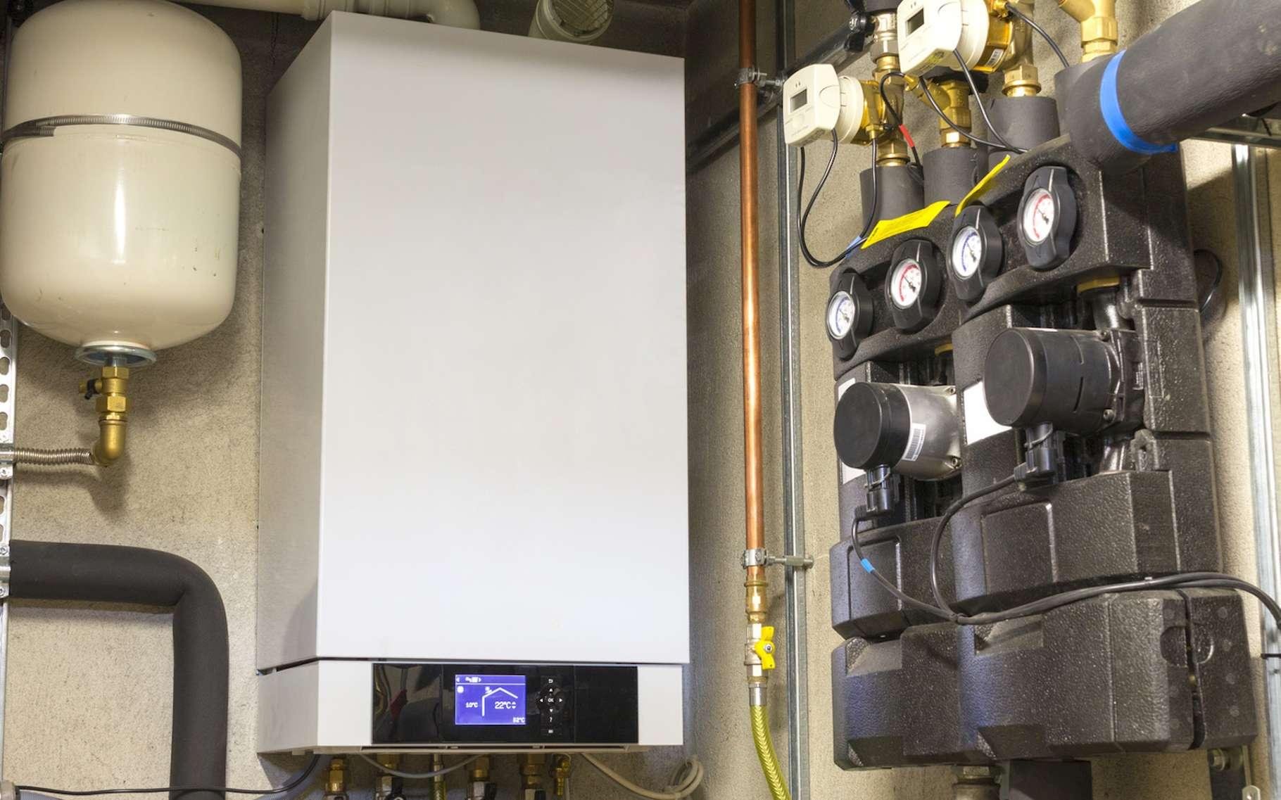 Une chaudière gaz à condensation est plus performante qu'une chaudière gaz classique. © matteogirelli, Fotolia