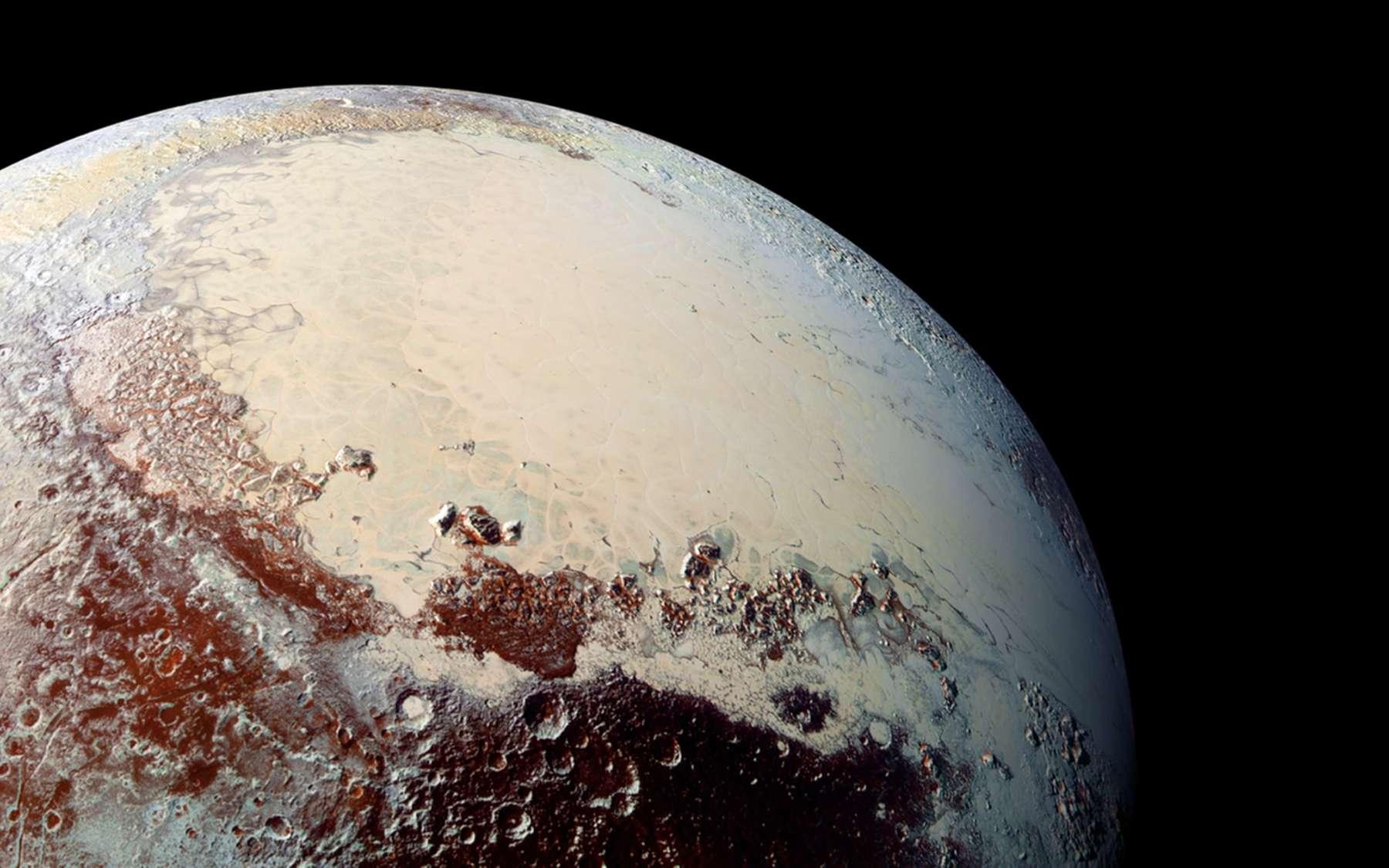 En juillet 2015, l'humanité découvrait le vrai visage de Pluton grâce à la sonde New Horizons. © Nasa, JHUAPL, SwRI