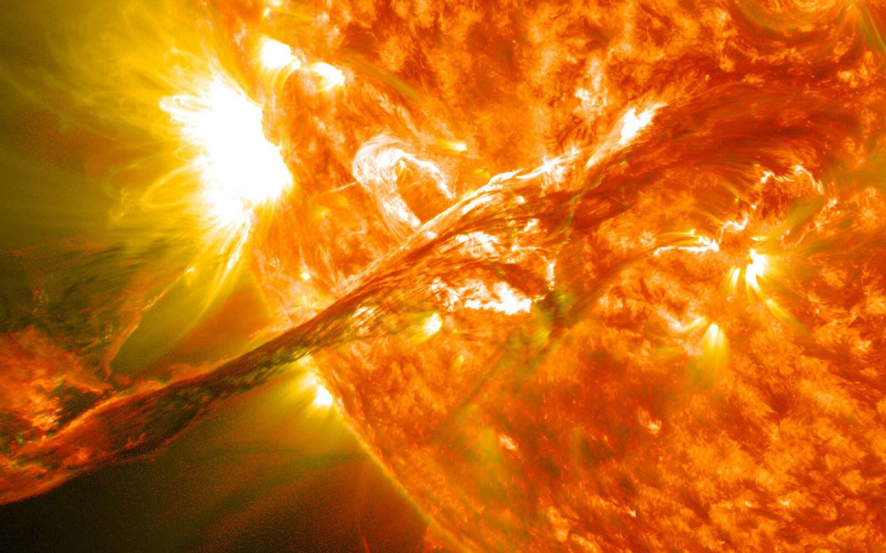 La source de particules dangereuses expulsées par le Soleil localisée - Futura