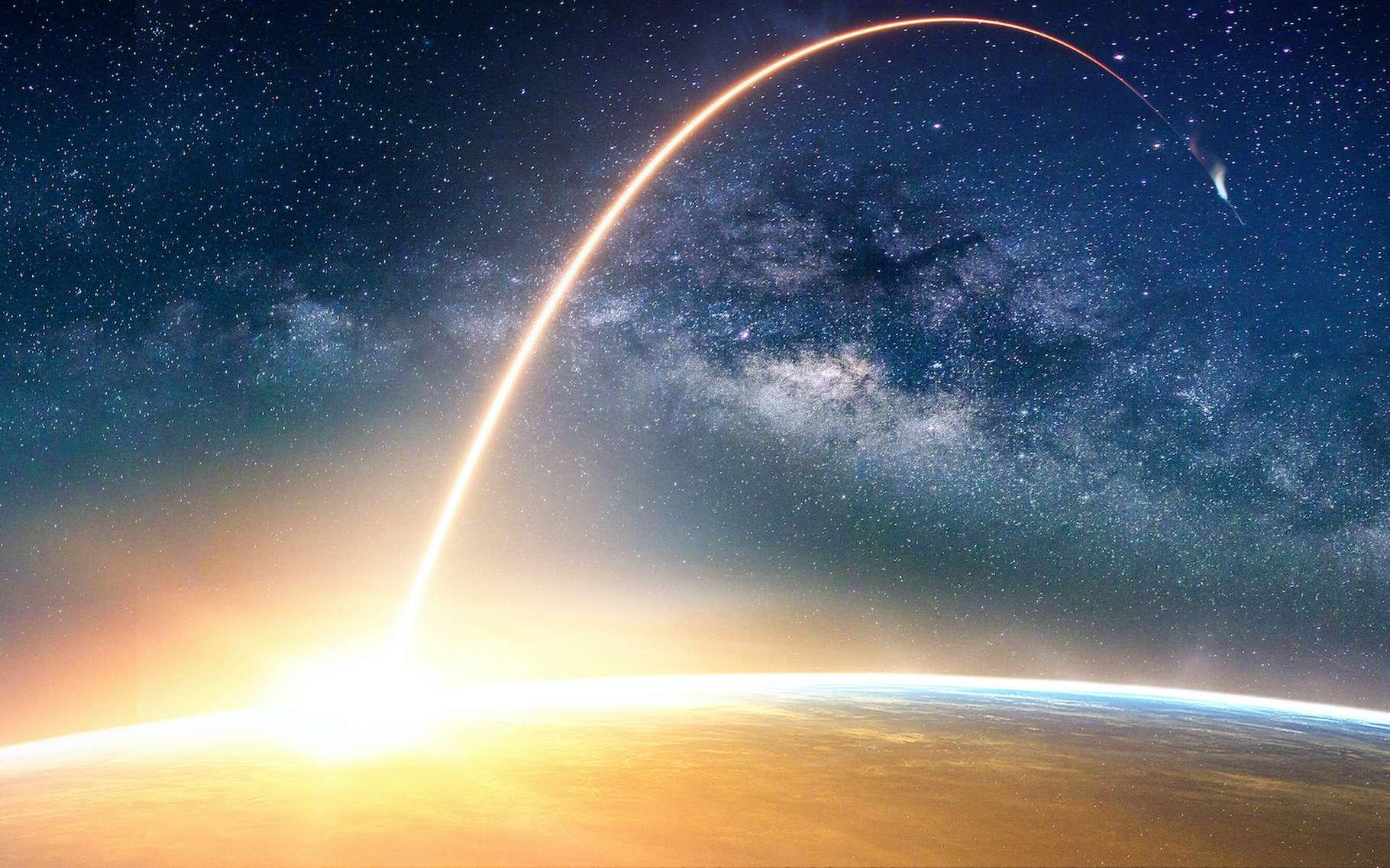 Le terme orbite désigne notamment la trajectoire d'un objet céleste. © nuttawutnuy, Adobe Stock