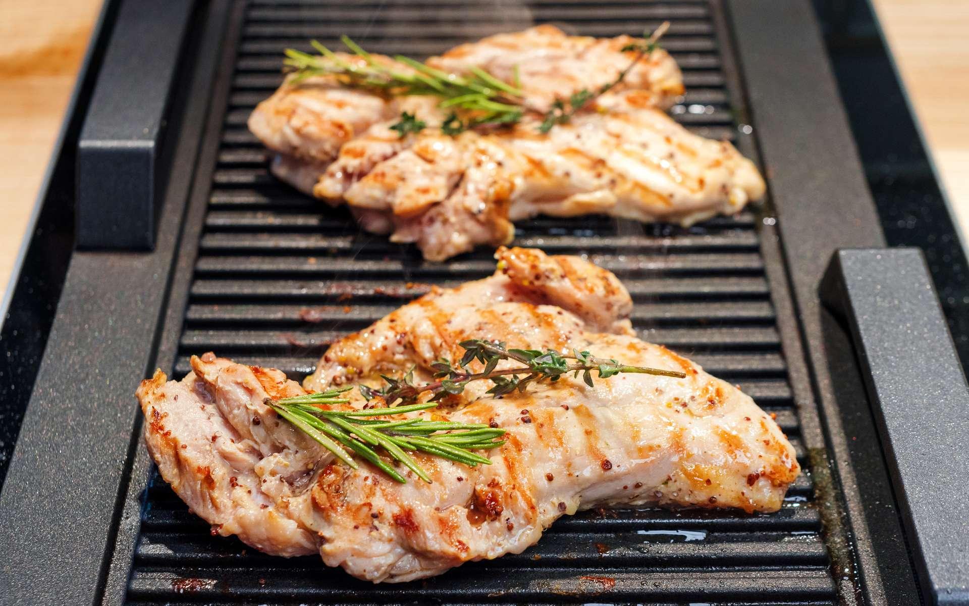 La viande cuite au laser, meilleure que la viande cuite au gril ? © Magryt, Adobe Stock