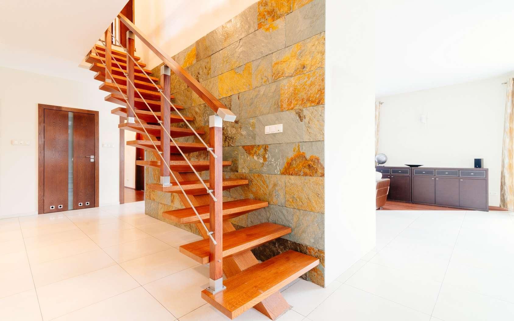 Choisissez votre escalier en fonction de l'usage, sans négliger l'esthétique. © Fotolia