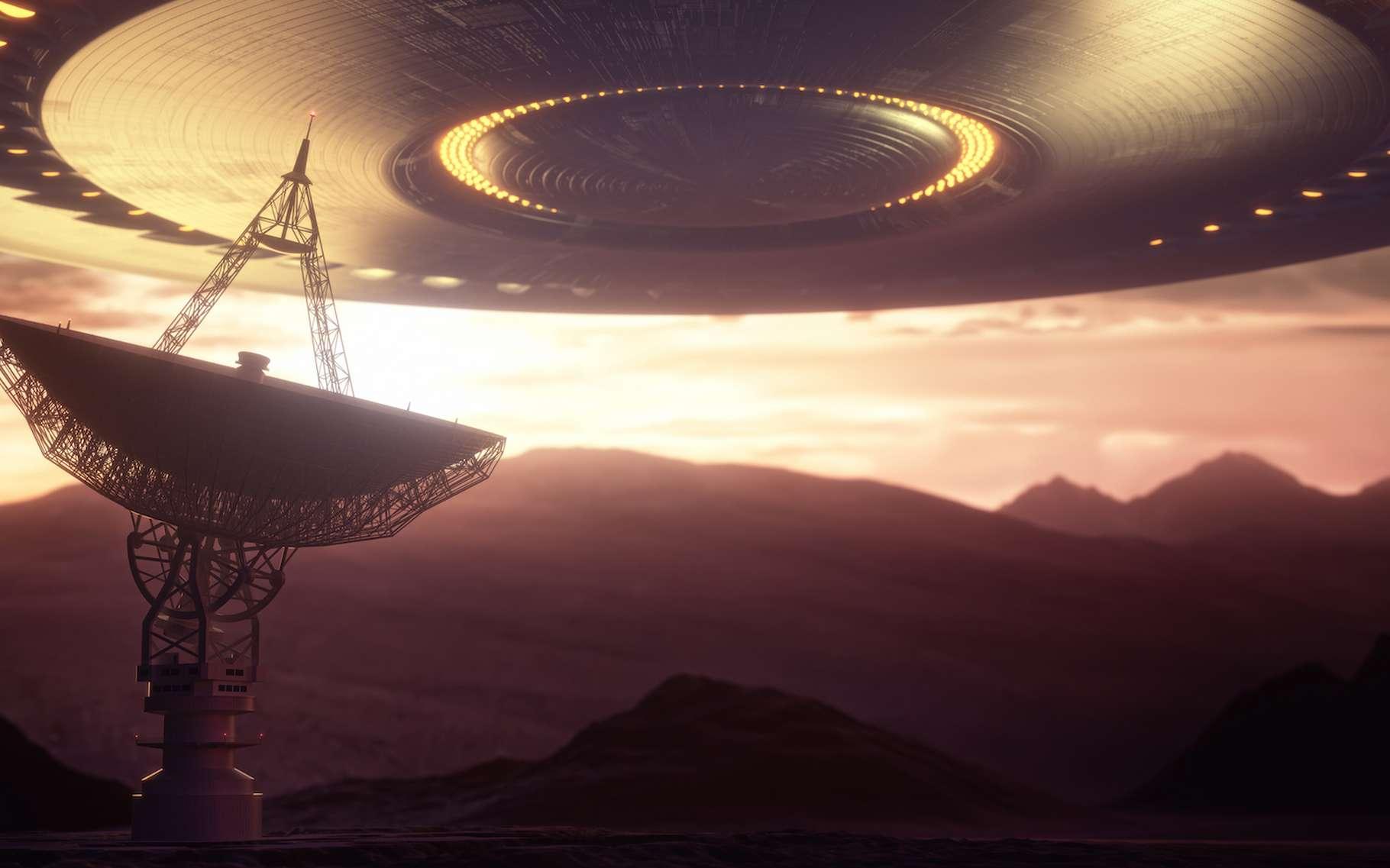 Un astronome amateur a trouvé, dans la région d'où est venu le signal « Wow ! », une étoile semblable au Soleil. Héberge-t-elle une exoplanète sur laquelle une forme de vie intelligente s'est développée ? © ktsdesign, Adobe Stock