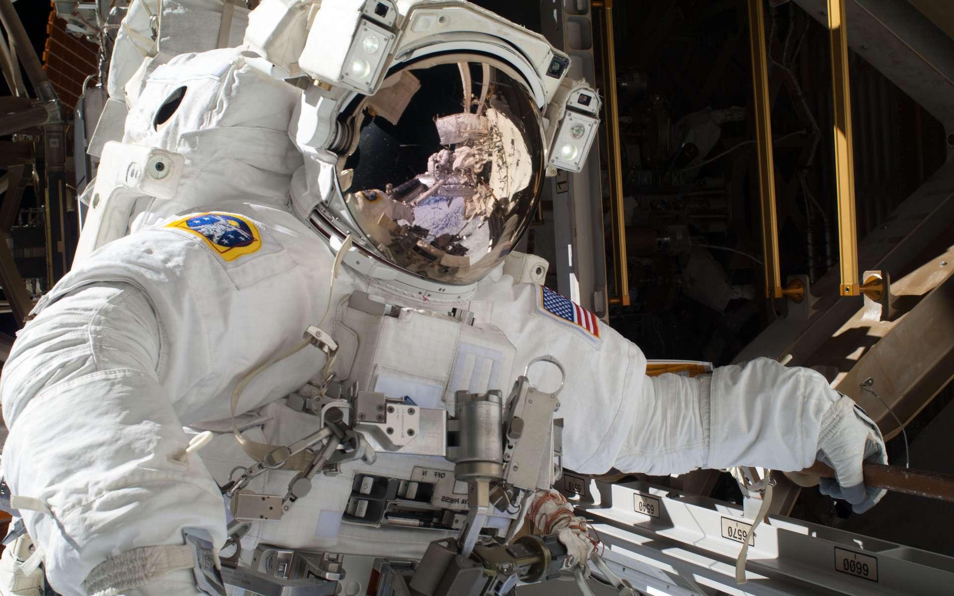 L'espérance de vie des astronautes de la Nasa ne semble pas affectée par l'exposition aux radiations dans l'espace. © Nasa
