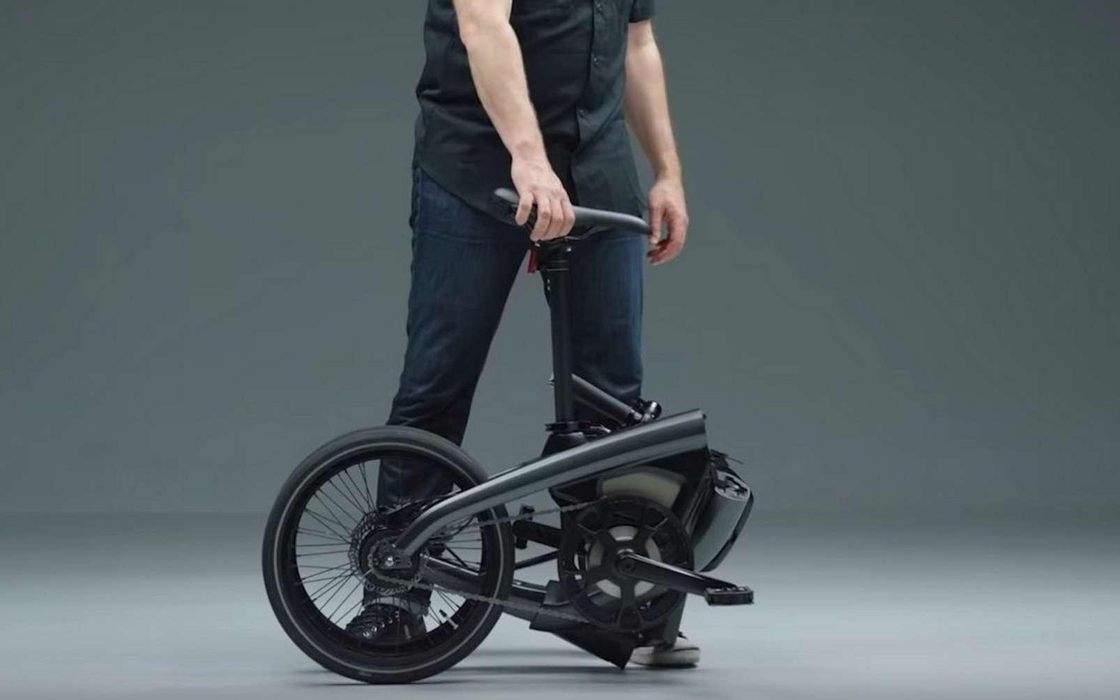 Le vélo électrique pliable de General Motors a reçu un très bon accueil critique. © General Motors