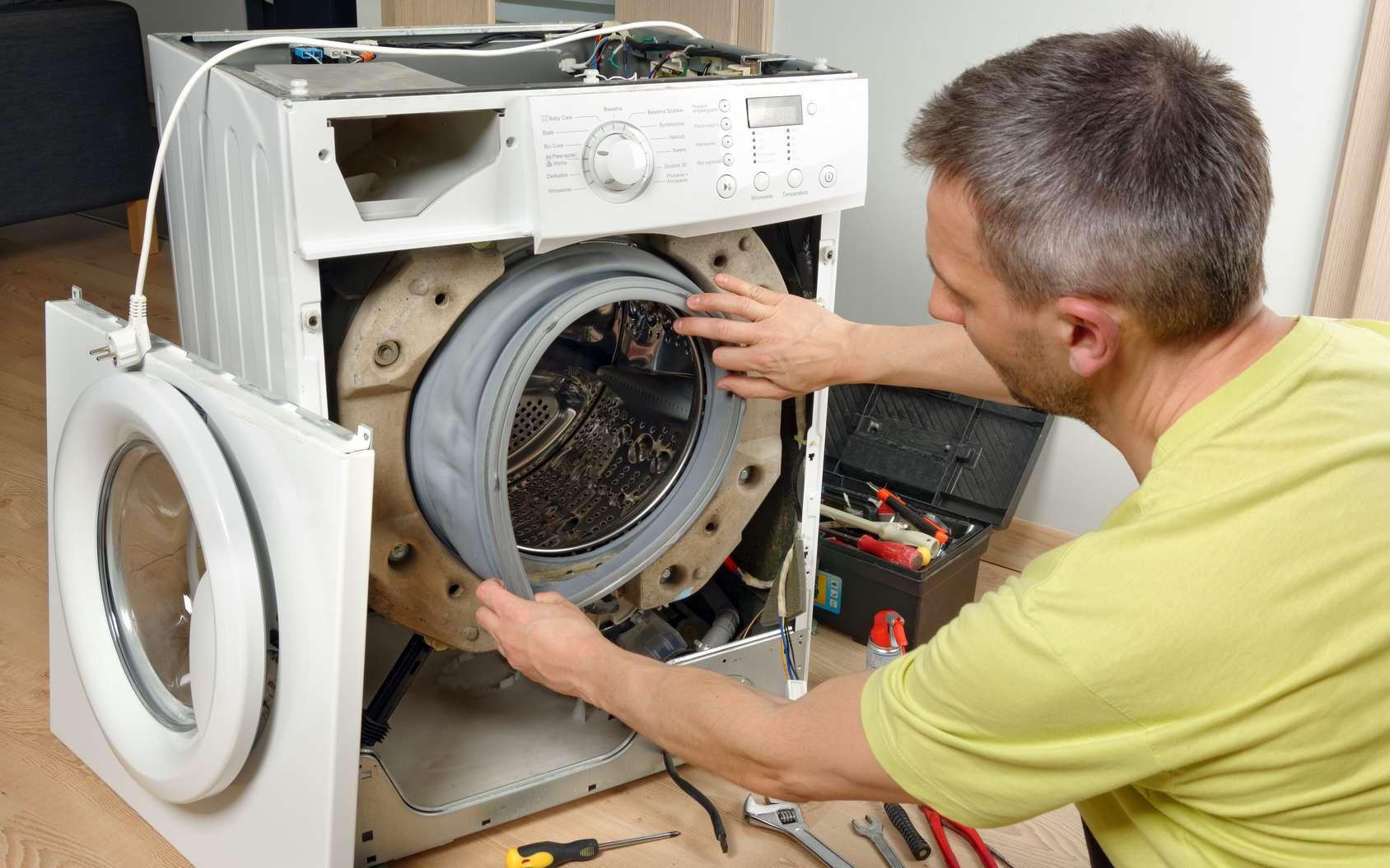 2,7 millions de nouvelles machines à laver le linge sont vendues chaque année en France. © Gpmax, Fotolia