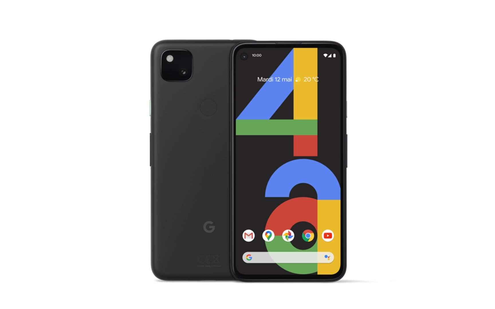 Le Pixel 4a offre un plus beau design que son grand frère plus massif et moins moderne. © Google