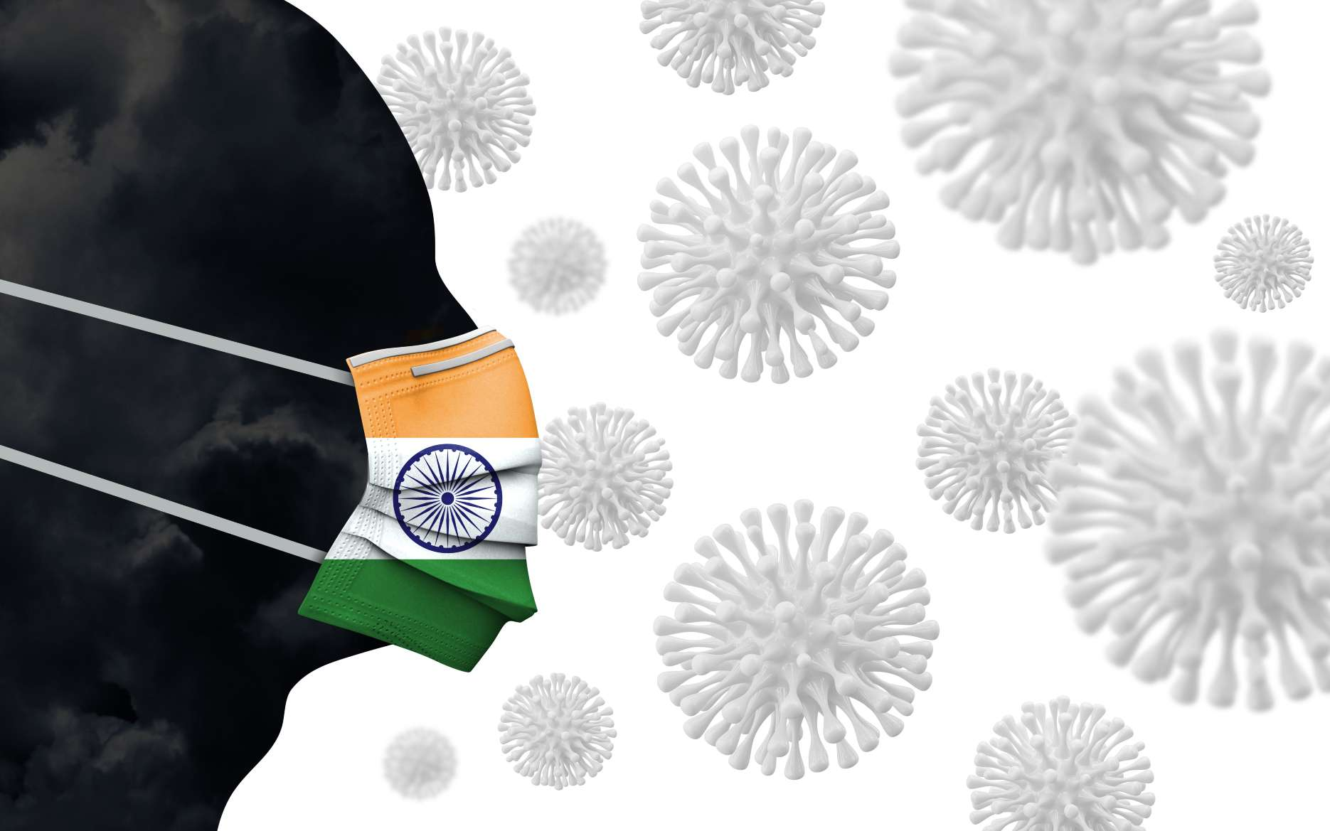 Un nouveau variant du coronavirus a émergé en Inde. © ink drop, Adobe Stock