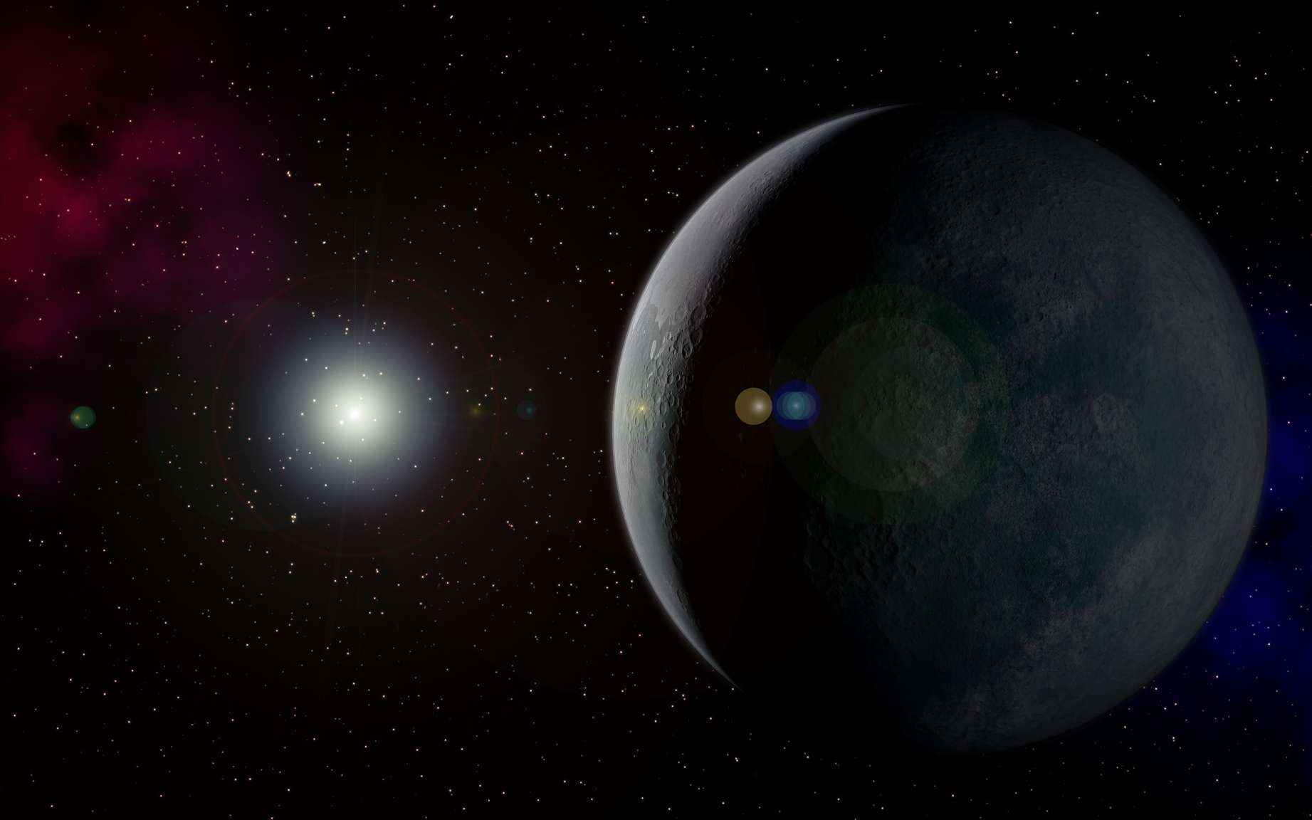 Des chercheurs pensent trouver une preuve supplémentaire de l'existence d'une neuvième planète aux confins de notre Système solaire en étudiant la trajectoire des comètes observées au Moyen-Âge et dépeintes dans les tapisseries. ©️ Kevin Gill/Elizabeth Gill, Flickr