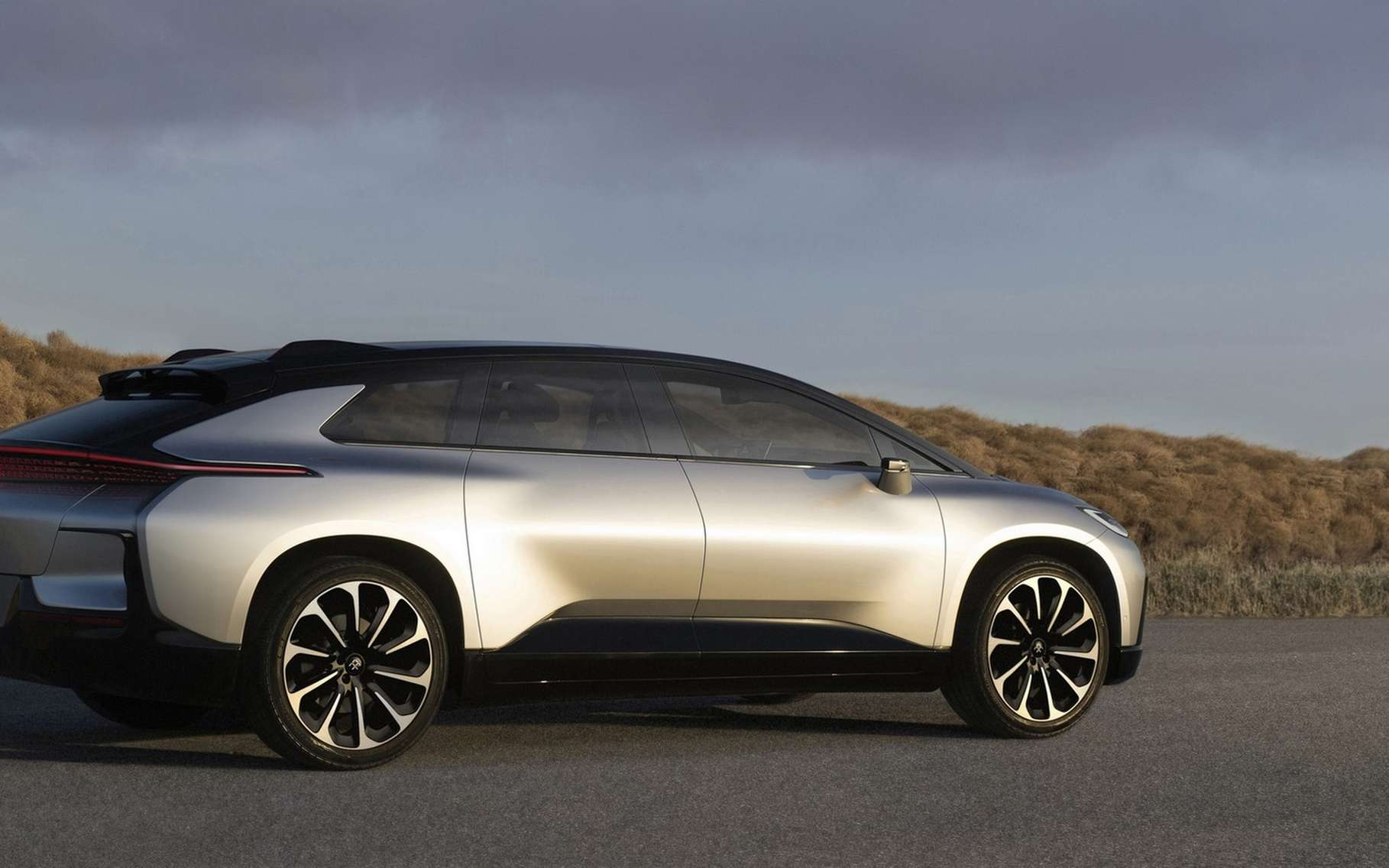 La FF 91 de Faraday Future est un SUV électrique. © Faraday Future