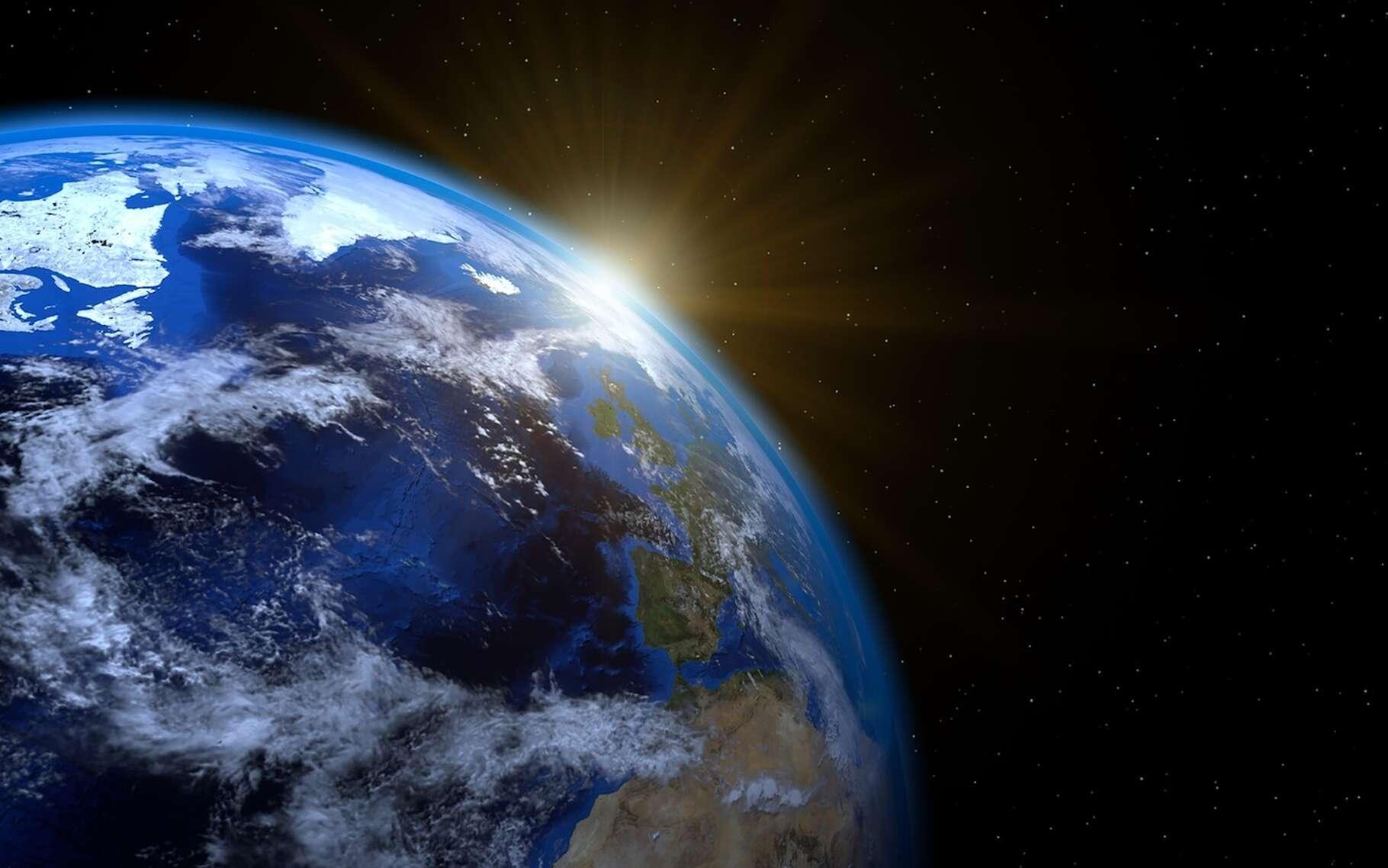 Depuis les années 1950, les chercheurs observent une relation linéaire étonnamment simple entre la température à la surface de la Terre et la chaleur que notre planète dégage vers l'espace. © Никита Ежов, Fotolia