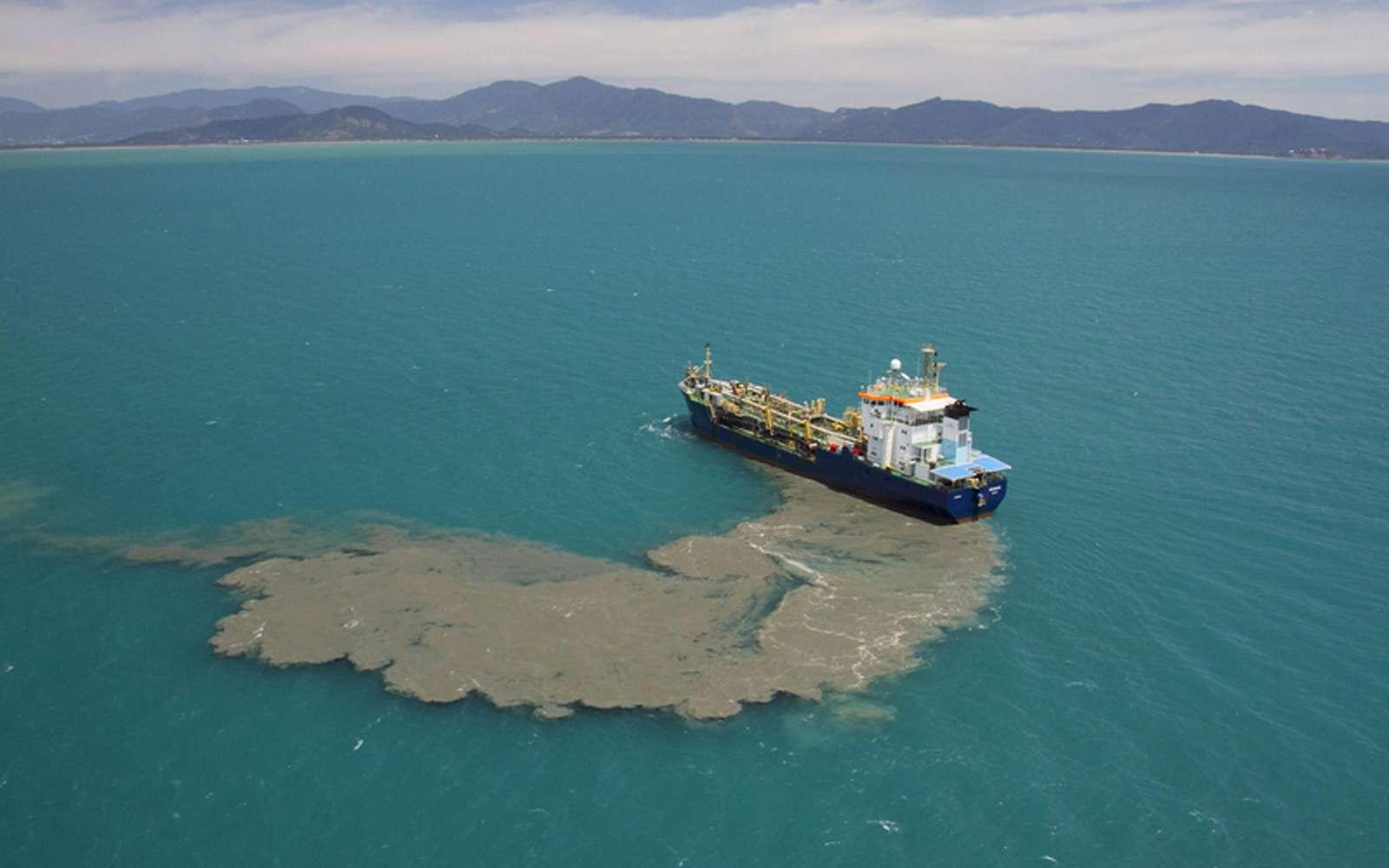Le dégazage est l'une des pratiques contribuant à la détérioration des écosystèmes marins. © Xanthe Rivett, CAFNEC, WWF-Aus