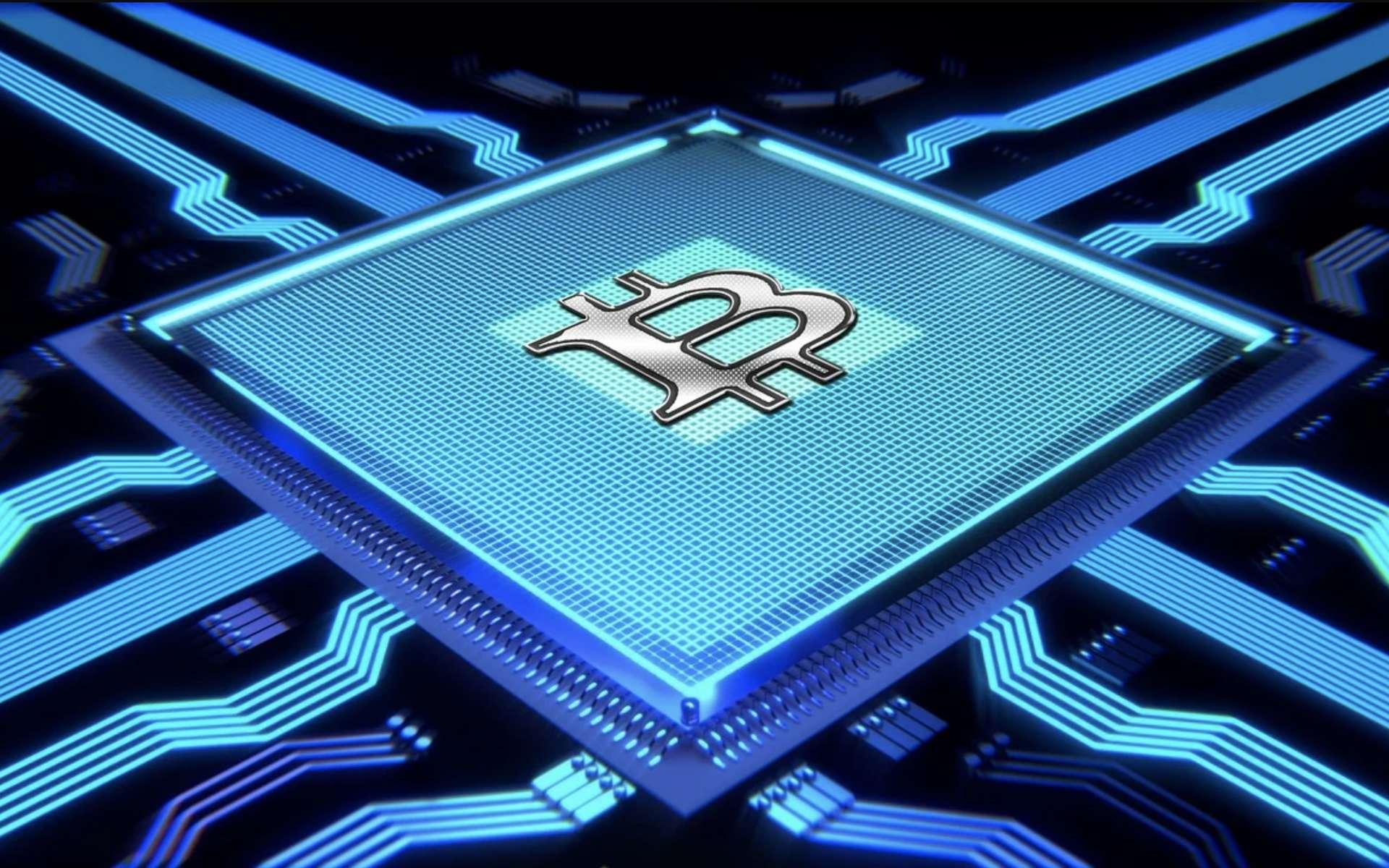 Minage de Bitcoin © Pixbay