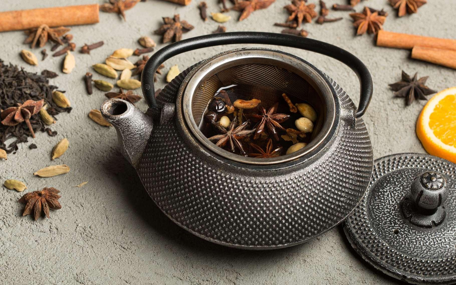 Thé et tisane sont deux boissons bien différentes par leurs propriétés et par la façon dont elles sont préparées. © Ganihina Daria, Shutterstock