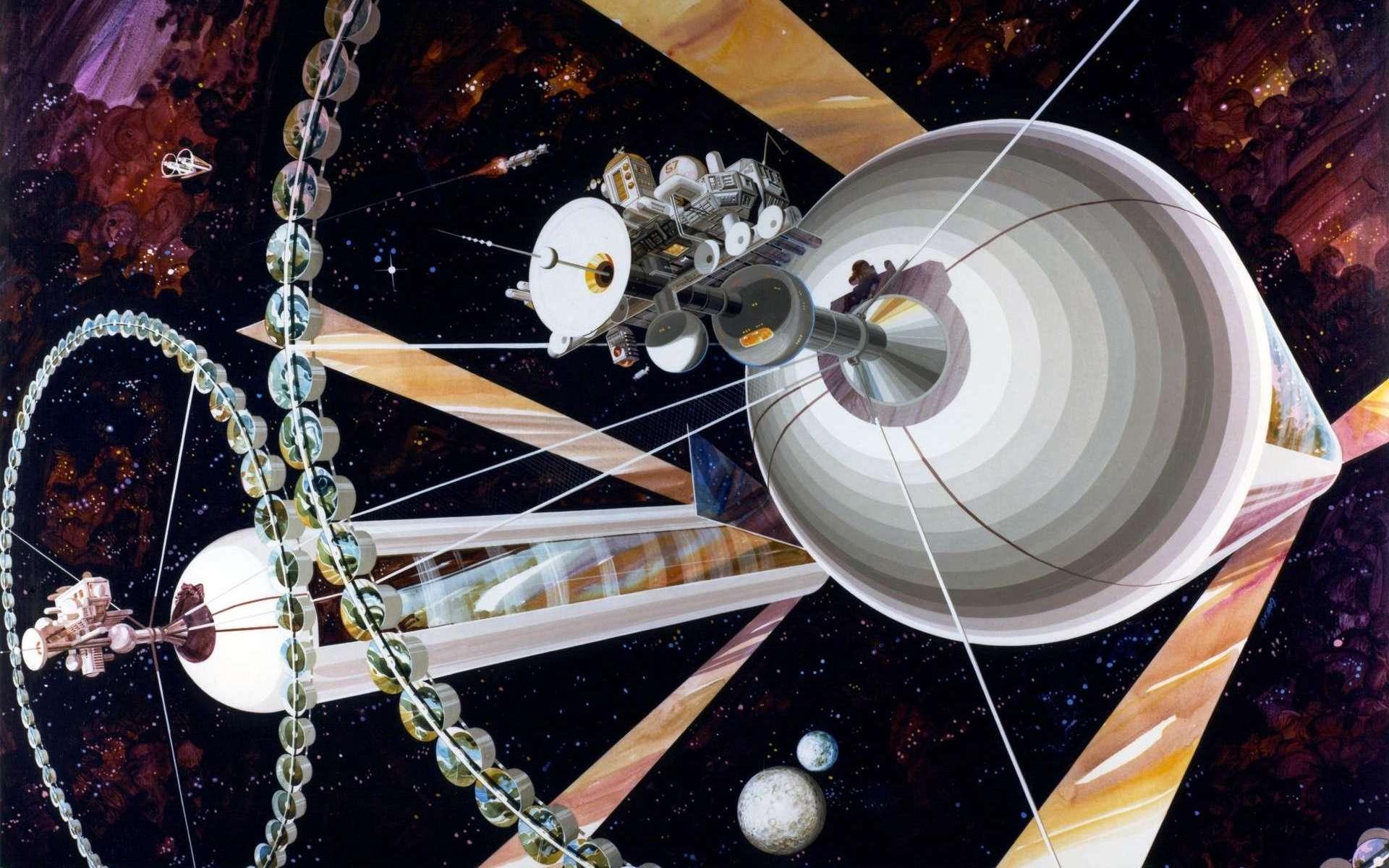 Jeff Bezos veut déplacer les industries polluantes dans l'espace, ce n'est pas idiot et on le sait depuis 50 ans !