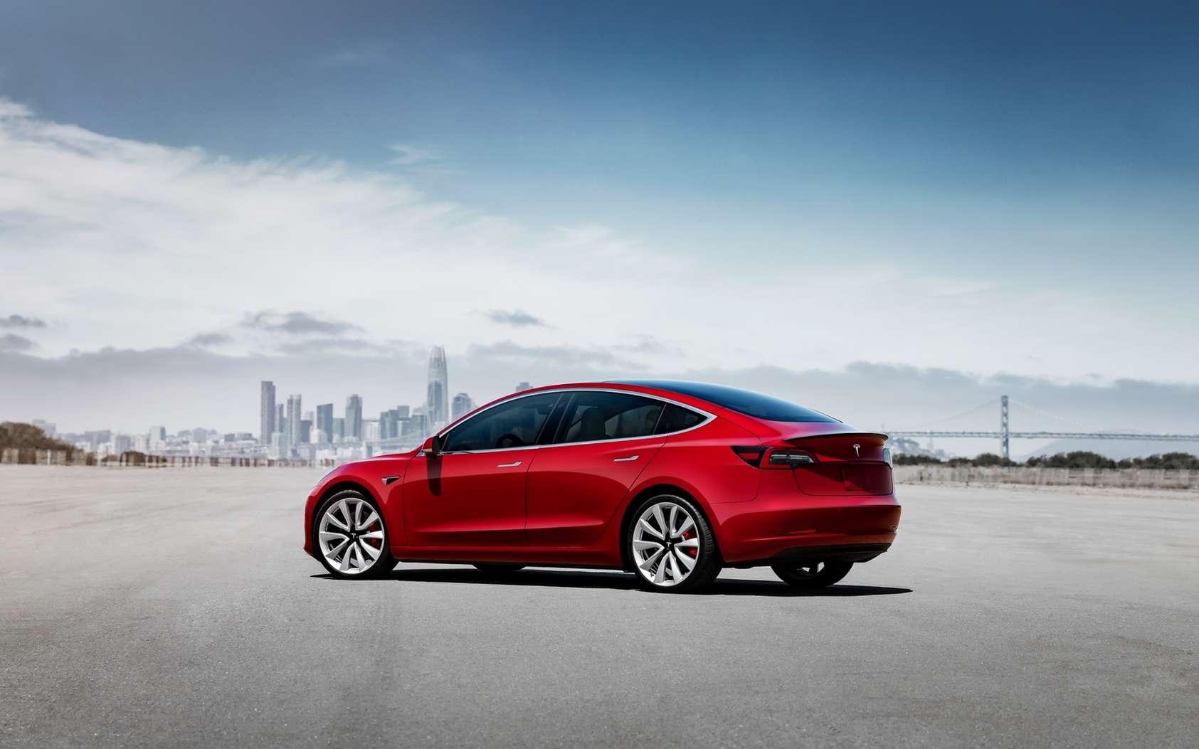 Le mode sentinelle est présent sur les Tesla Model 3, Model X et Model S. © Tesla