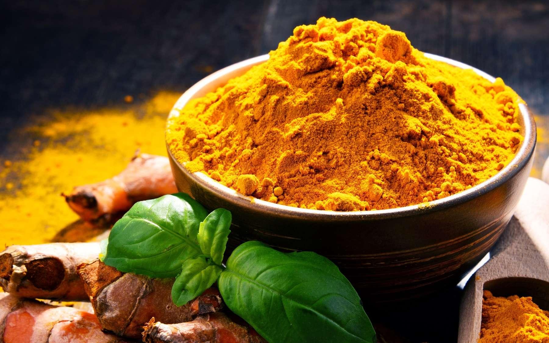 Le curcuma est un ingrédient du curry. © monticello, Fotolia