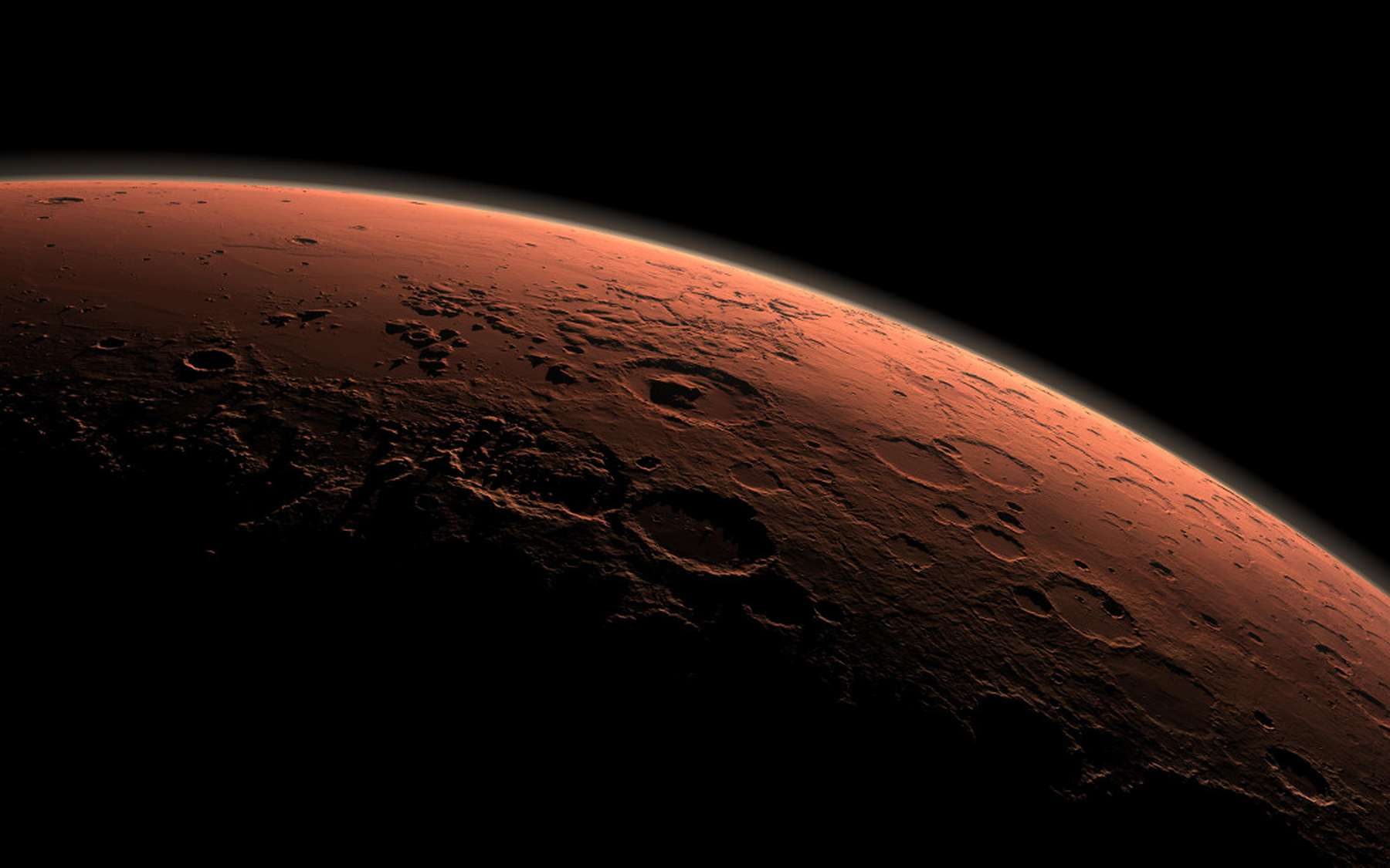 Pourquoi la planète Mars est-elle rouge ? © Nasa