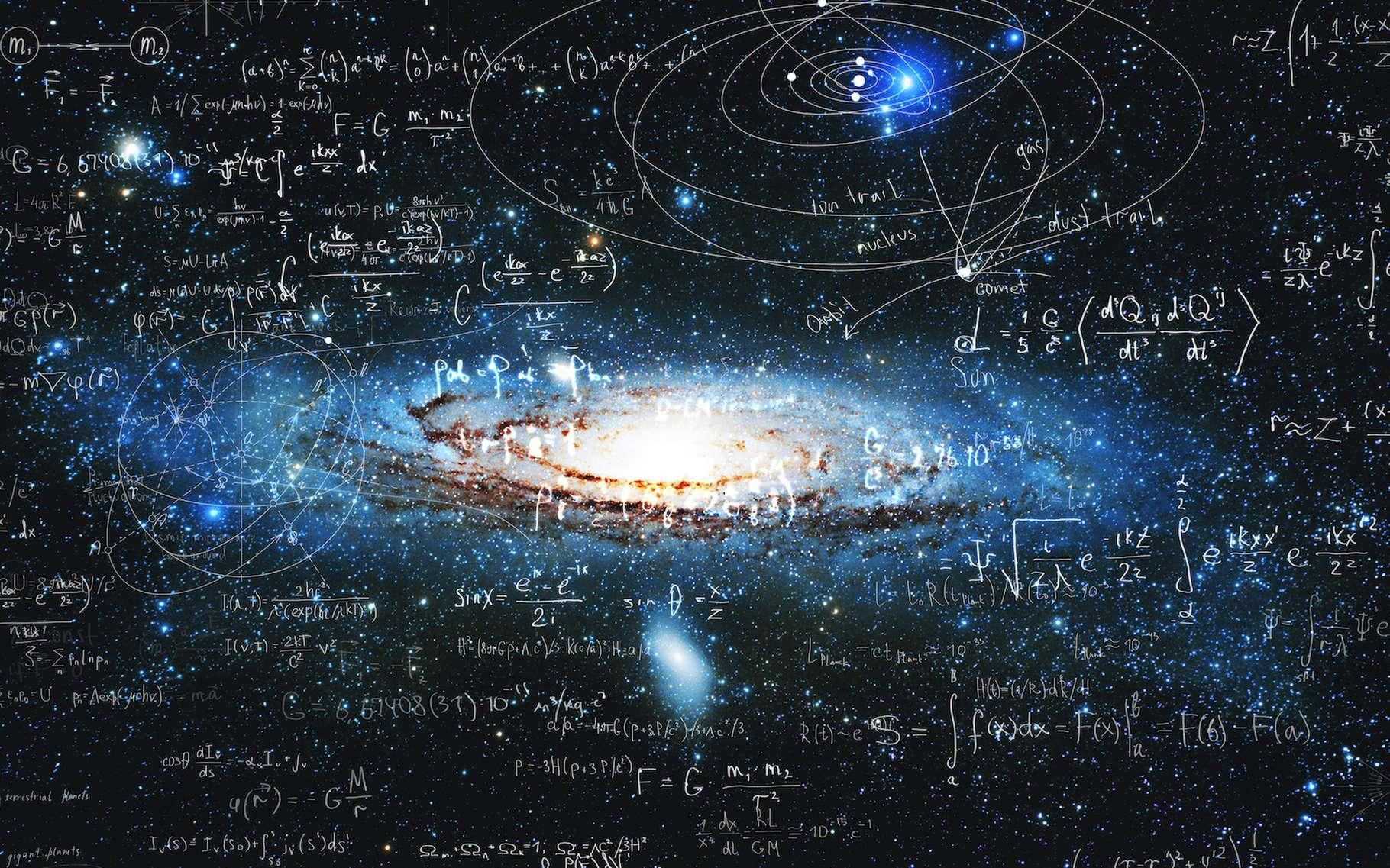 Les expériences menées par des chercheurs de l'université de Rochester (États-Unis) pourraient aider à expliquer l'origine des champs magnétiques que l'on trouve par exemple dans les amas de galaxies. © Ulia Koltyrina, Adobe Stock