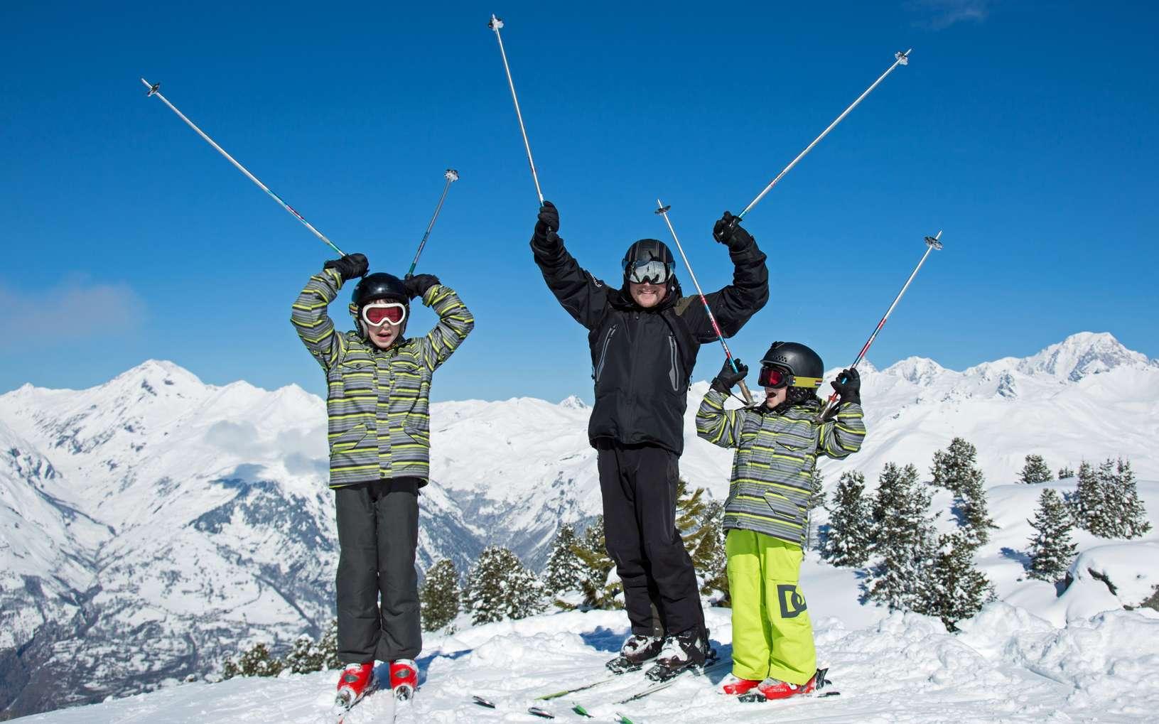 Terroirs alpins et méditerranéens se mêlent dans les stations de ski des Alpes du Sud. © ChantalS, fotolia