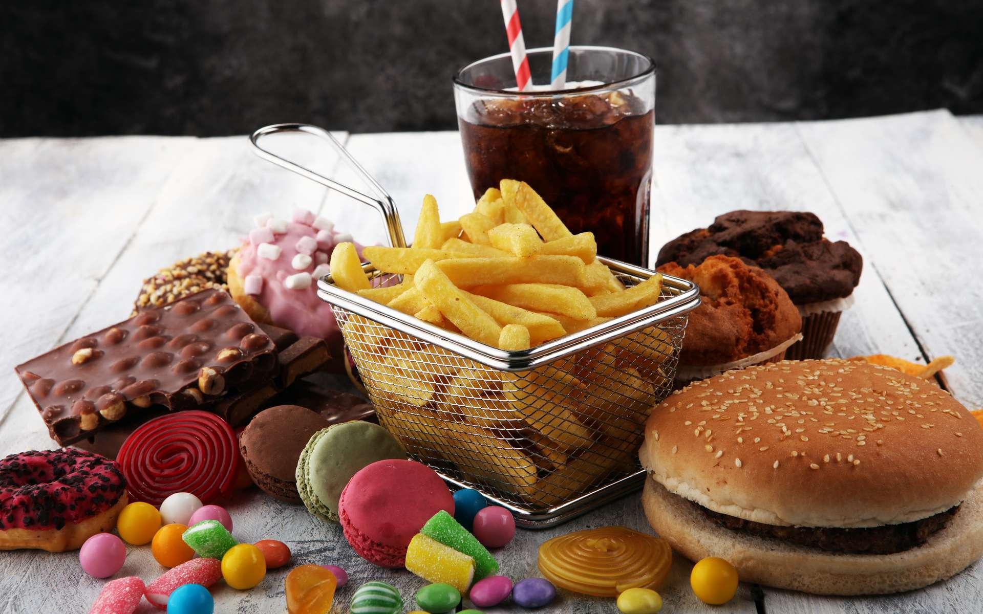 Frites, sodas, confiseries... pourraient être reliés à la maladie de Crohn. © beats_, Adobe Stock