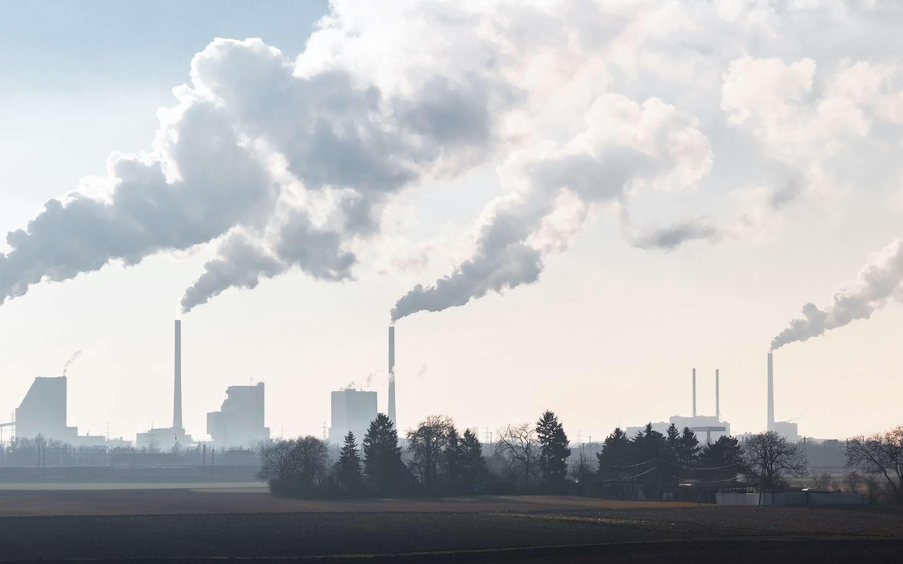 En 2021, nous pourrions dépasser le seuil emblématique de 50 % de CO2 de plus dans notre atmosphère qu'avant l'ère industrielle. © J.M. Image Factory, Adobe Stock