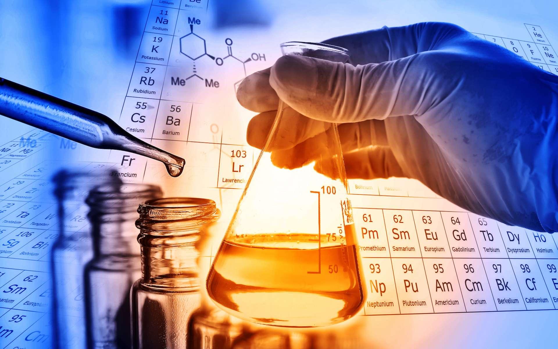 La chimie est la science qui étudie la composition et les transformations de la matière. © totojang 1977, Shutterstock