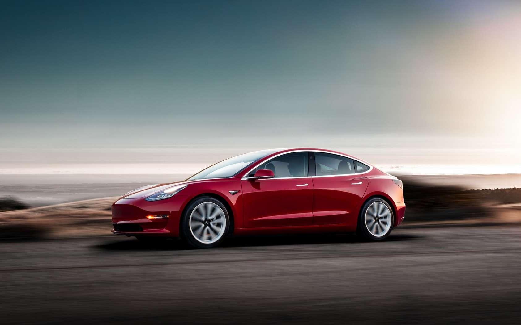 La Tesla Model 3 équipée de la nouvelle batterie lithium-fer-phosphate est réservée au marché chinois. © Tesla