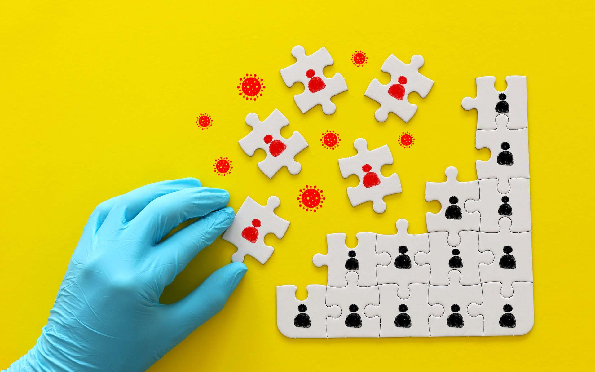Le virus se propage incognito par l'intermédiaire de personnes asymtomatiques. © tomertu, Adobe Stock