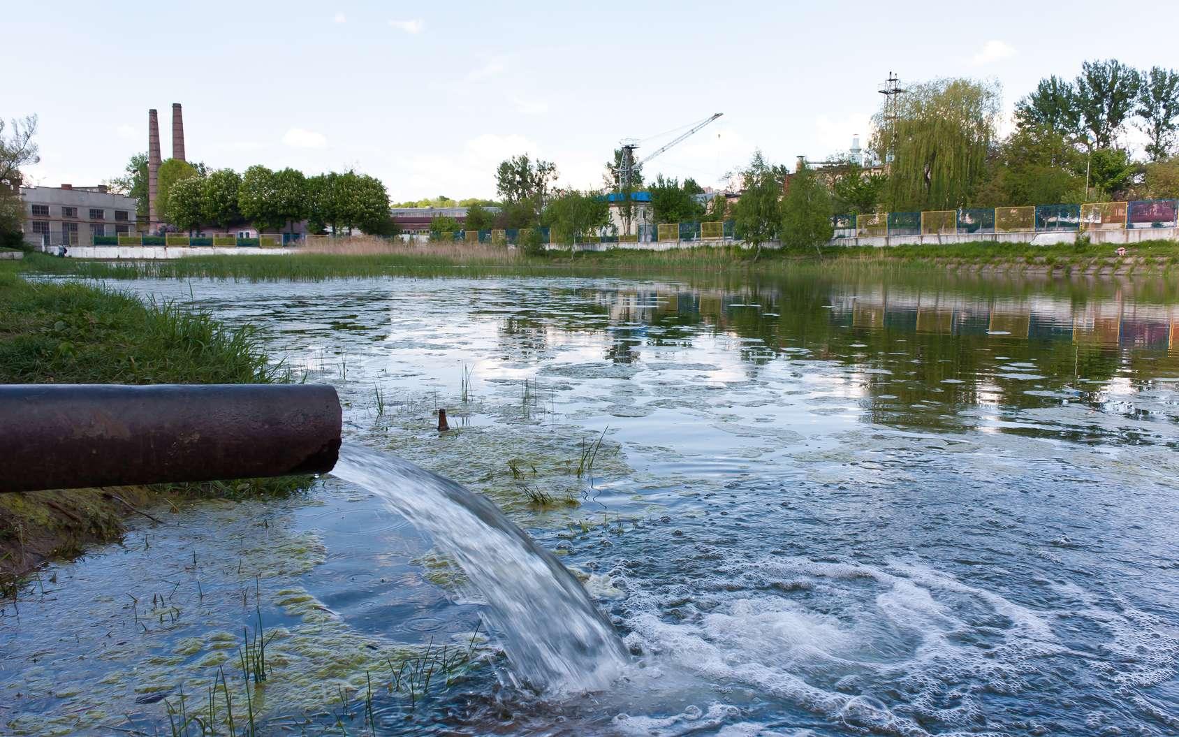 Les débris et la turbidité sont des indicateurs de pollution de l'eau. © alexmia, Fotolia