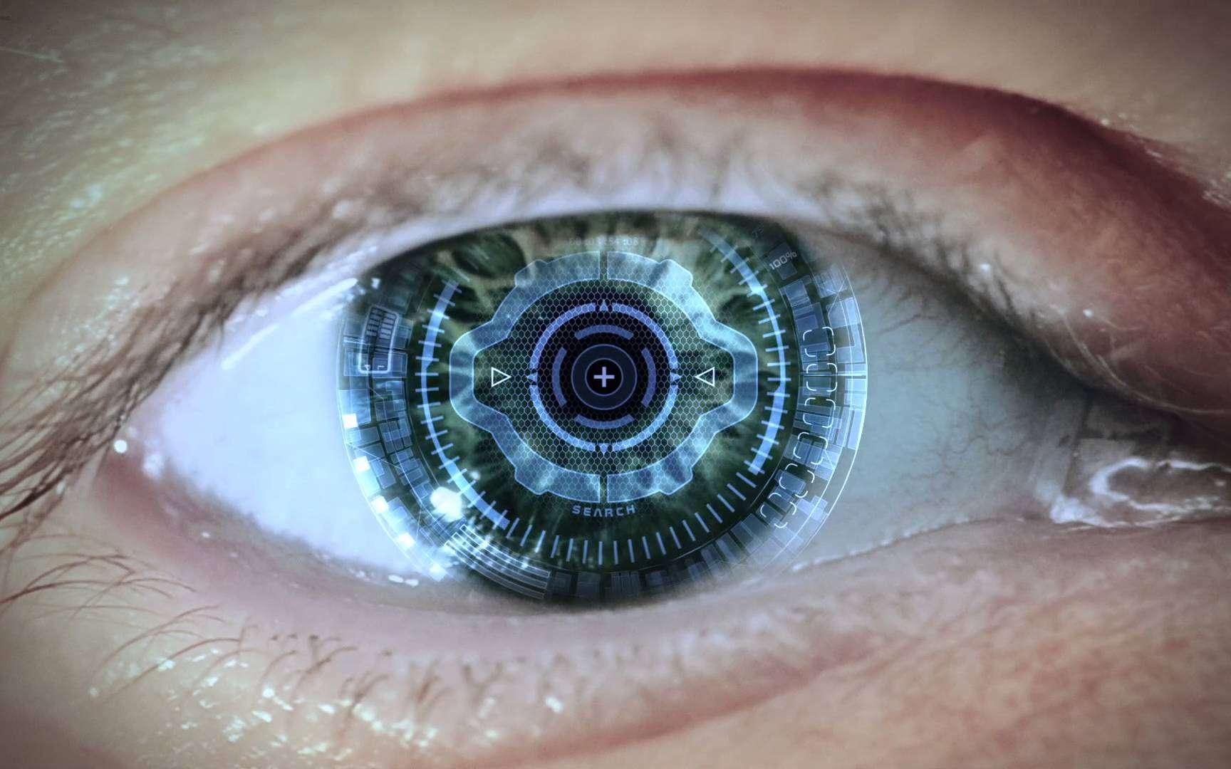 Un œil bionique. Qu'est-ce que le transhumanisme ? © Jason Silva