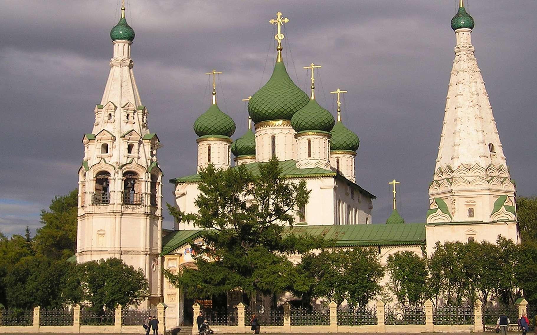 Cathédrale de la Dormition de Iaroslavl. © Florstein, licence CC 4.0