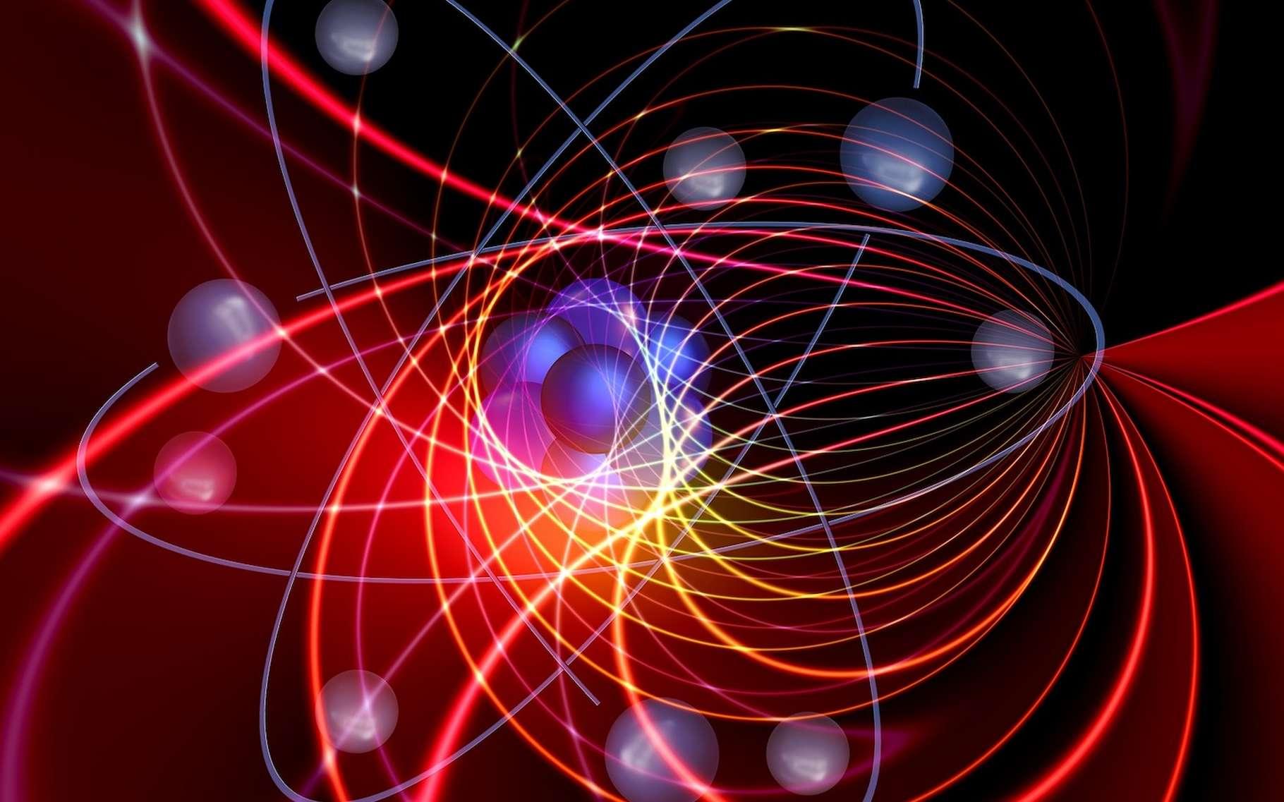 L'électromagnétisme est une branche de la physique qui permet de comprendre comment les atomes ou les molécules peuvent exister. © geralt, Pixabay, CC0 Creative Commons