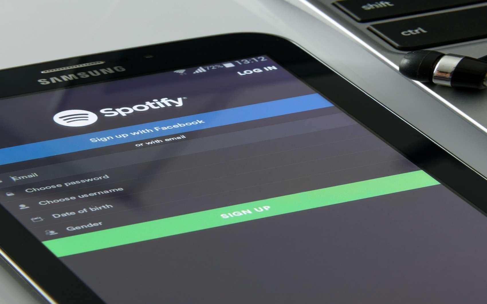 Futura vous présente une sélection de fonctions et d'options à connaître si vous débutez sur Spotify. © Pxhere.com