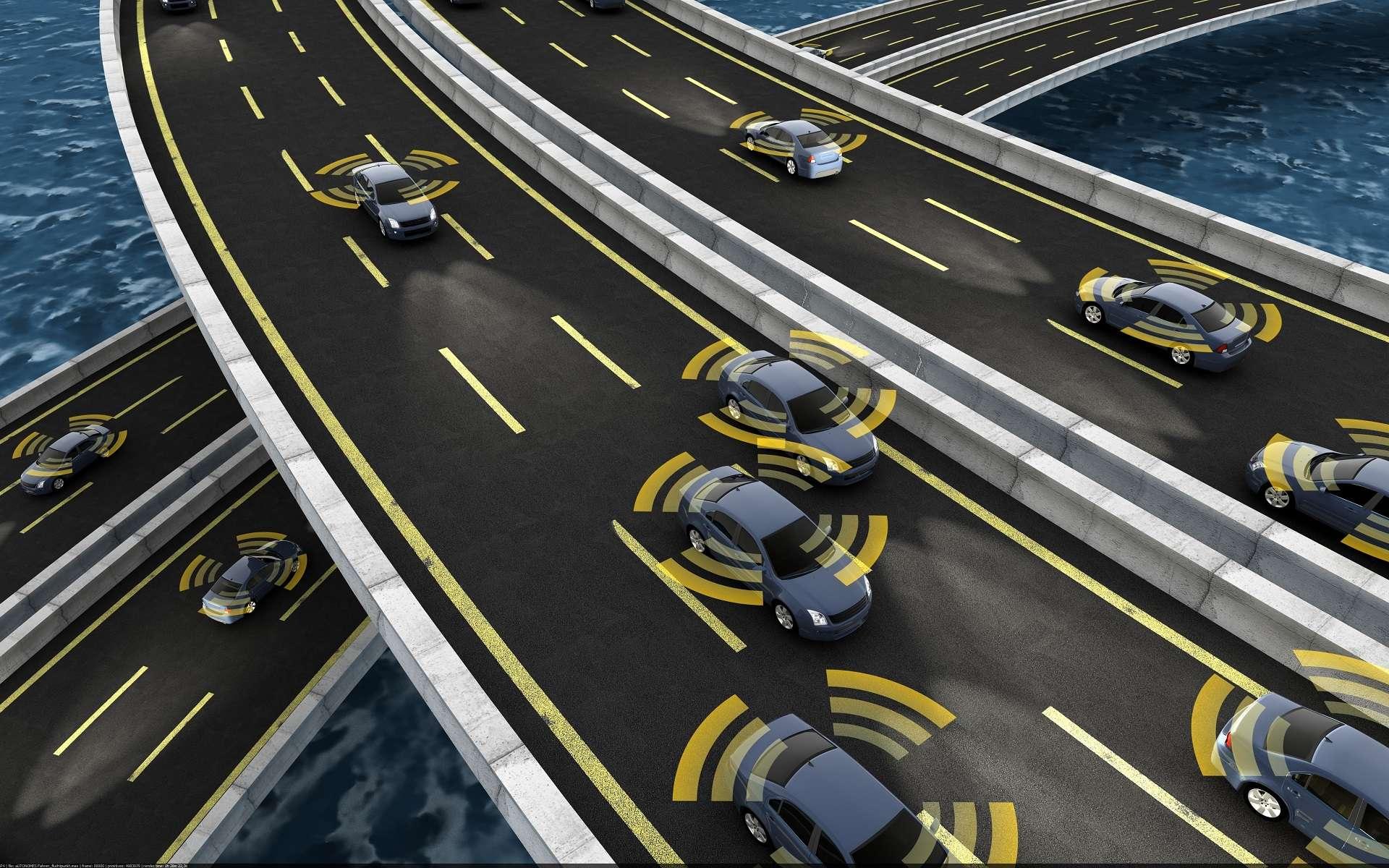 L'ingénieur développement ADAS est à l'origine de tous les systèmes d'assistance à la conduite. Aide au freinage, assistance au parking, détection d'obstacles, l'ingénieur ADAS est à l'origine de la voiture autonome. © folienfeuer, Adobe Stock.