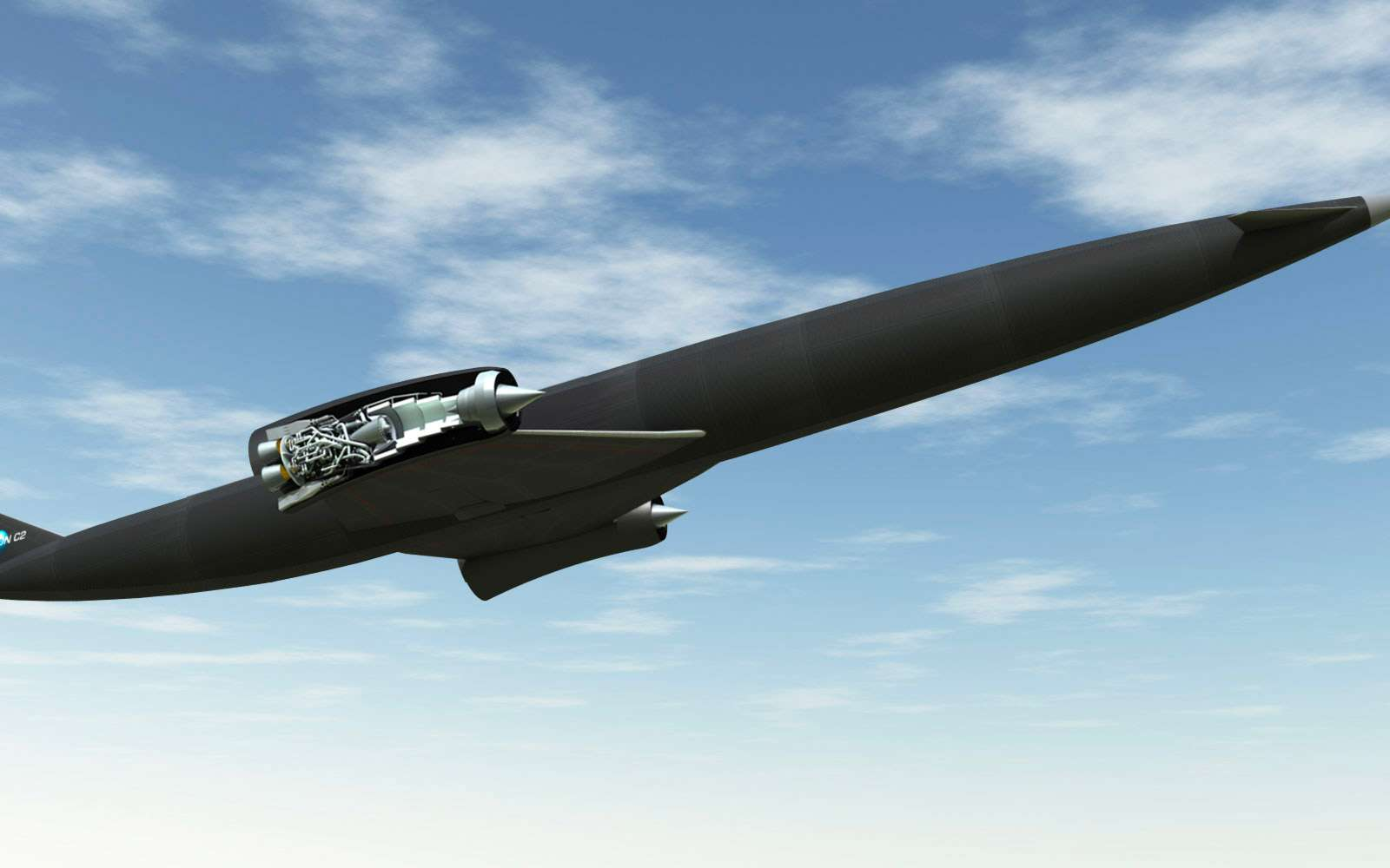Séparation d'un étage supérieur d'avec un lanceur réutilisable à moteur Sabre. © Reaction Engines Ltd
