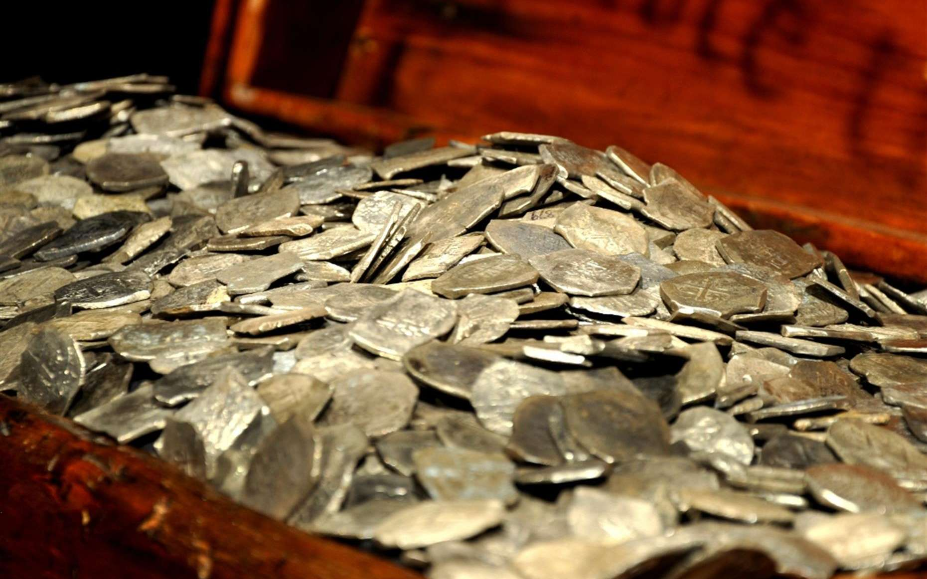 Le trésor du Whydah, remonté à la surface par Barry Clifford. © Theodore Scott