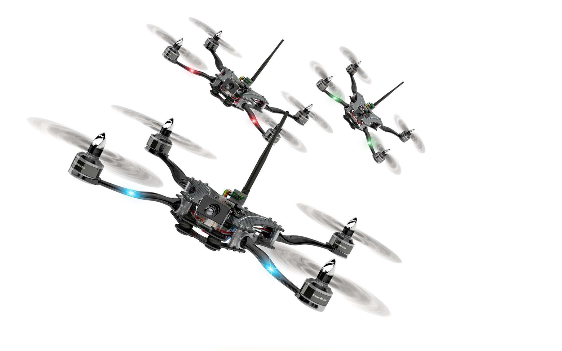 Les courses de drones sont de plus en plus populaires à travers le monde. © Design dabringer, Fotolia