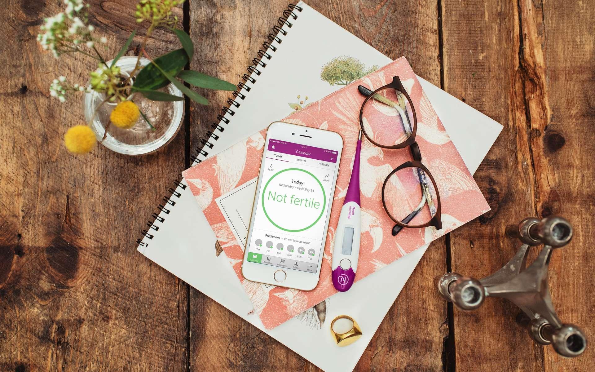 Une application mobile reconnue en tant que moyen de contraception aux États-Unis. Natural Cycles
