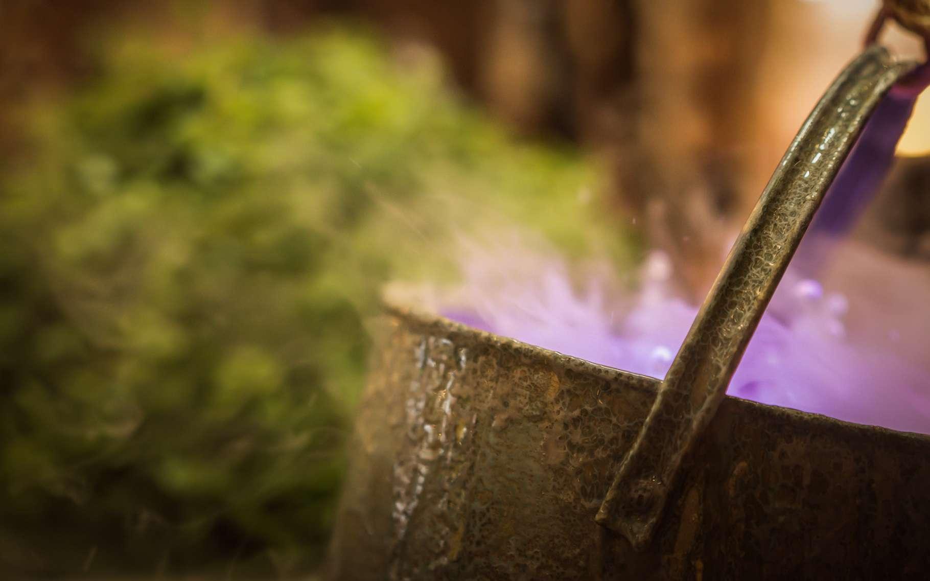 L'expérience du chaudron de la sorcière est simple à réaliser et devrait avoir du succès, notamment auprès des enfants. © sommart, Fotolia