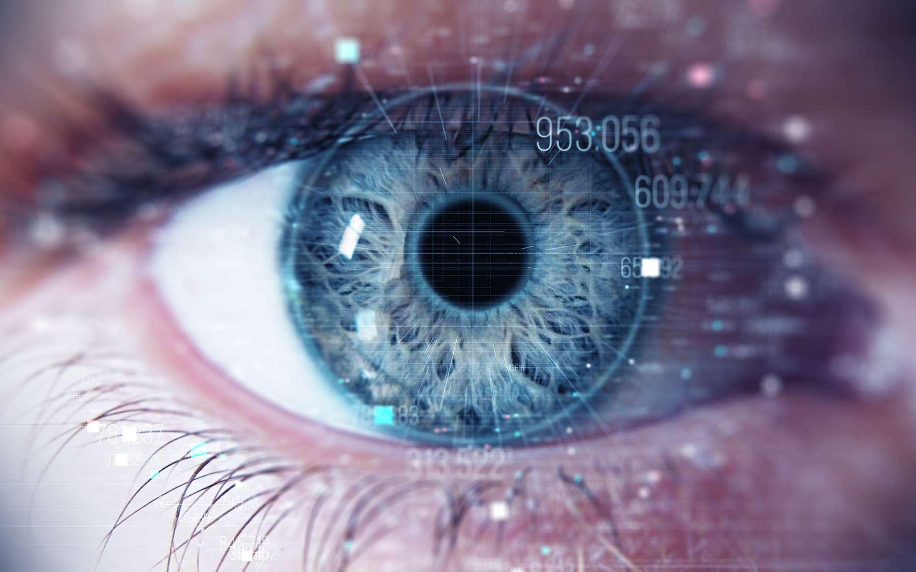 Le regard peut trahir les mouvements des doigts lorsque l'on tape un code secret sur son smartphone. © Spainter_vfx, Fotolia