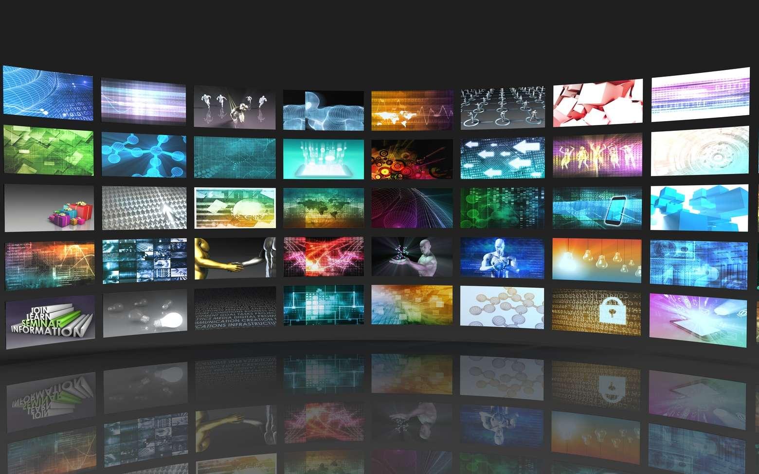 Les technologies d'affichage des écran Amoled et LCD sont les plus répandues. © kentoh, Fotolia