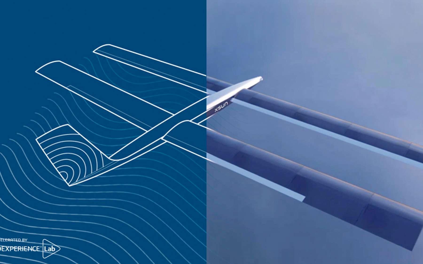Ultra-léger, le drone solaire SolarXOne mesure 4,6 mètres d'envergure pour 25 kg. © Dassault Systèmes