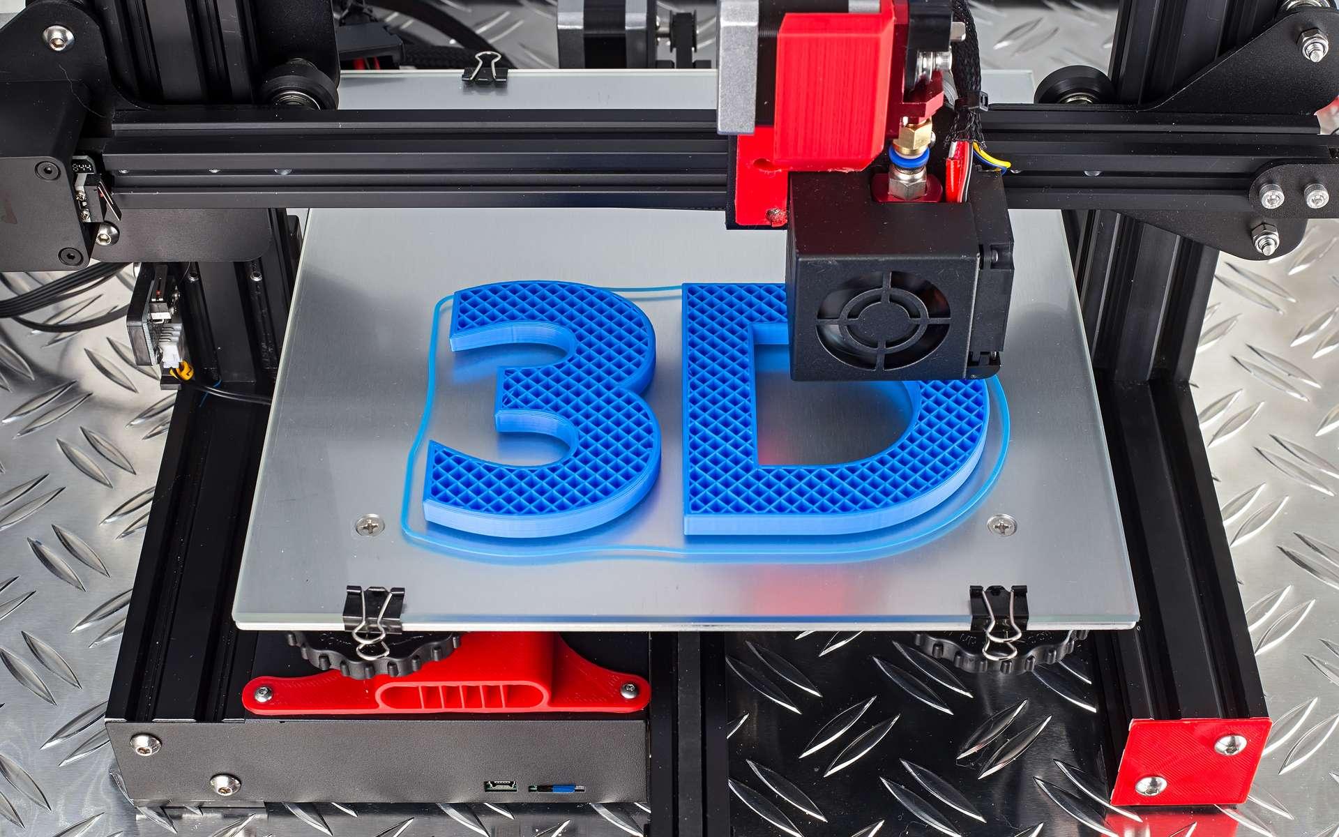L'impression 3D, un secteur en plein essor. © stockphoto-graf, Adobe Stock