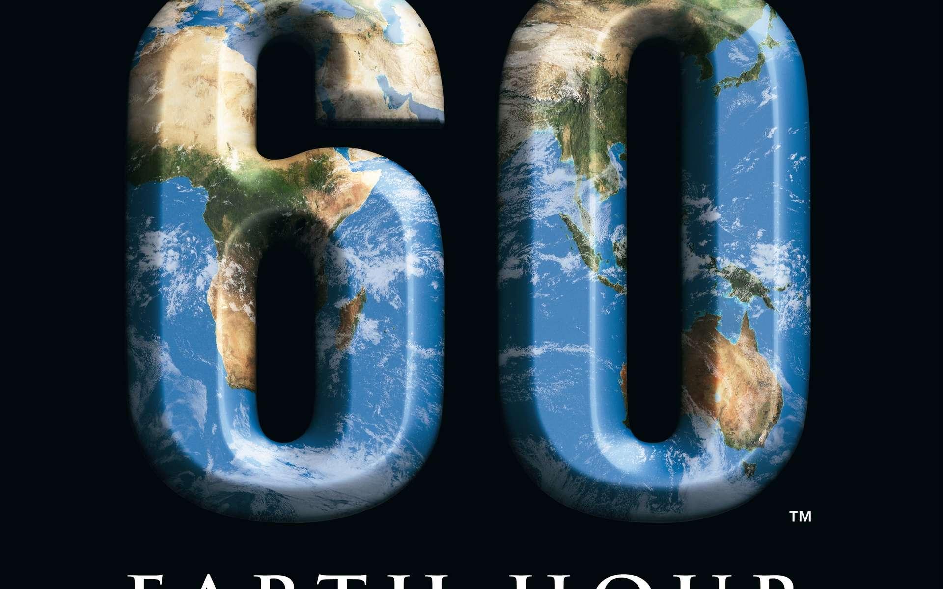 60 minutes sans émission de photons, combien d'électricité consommée en moins ? © WWF