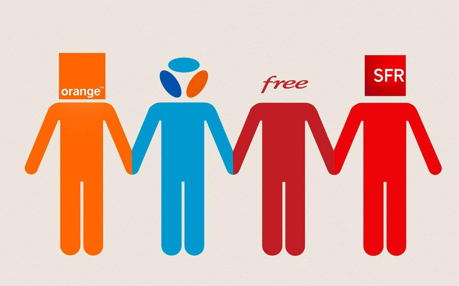 Le mois de janvier confirme la bonne santé d'Orange et de son offre low cost Sosh. © MonPetitForfait