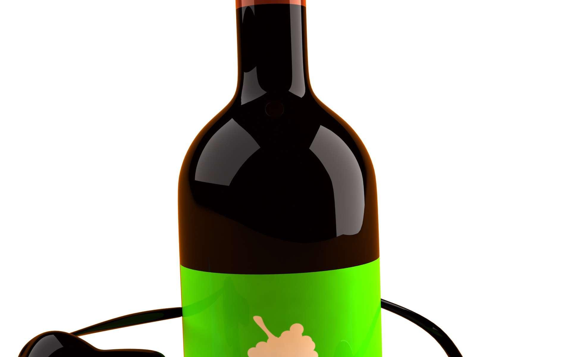 Bio ou non, l'alcool a les mêmes effets sur la santé. © Fotolia