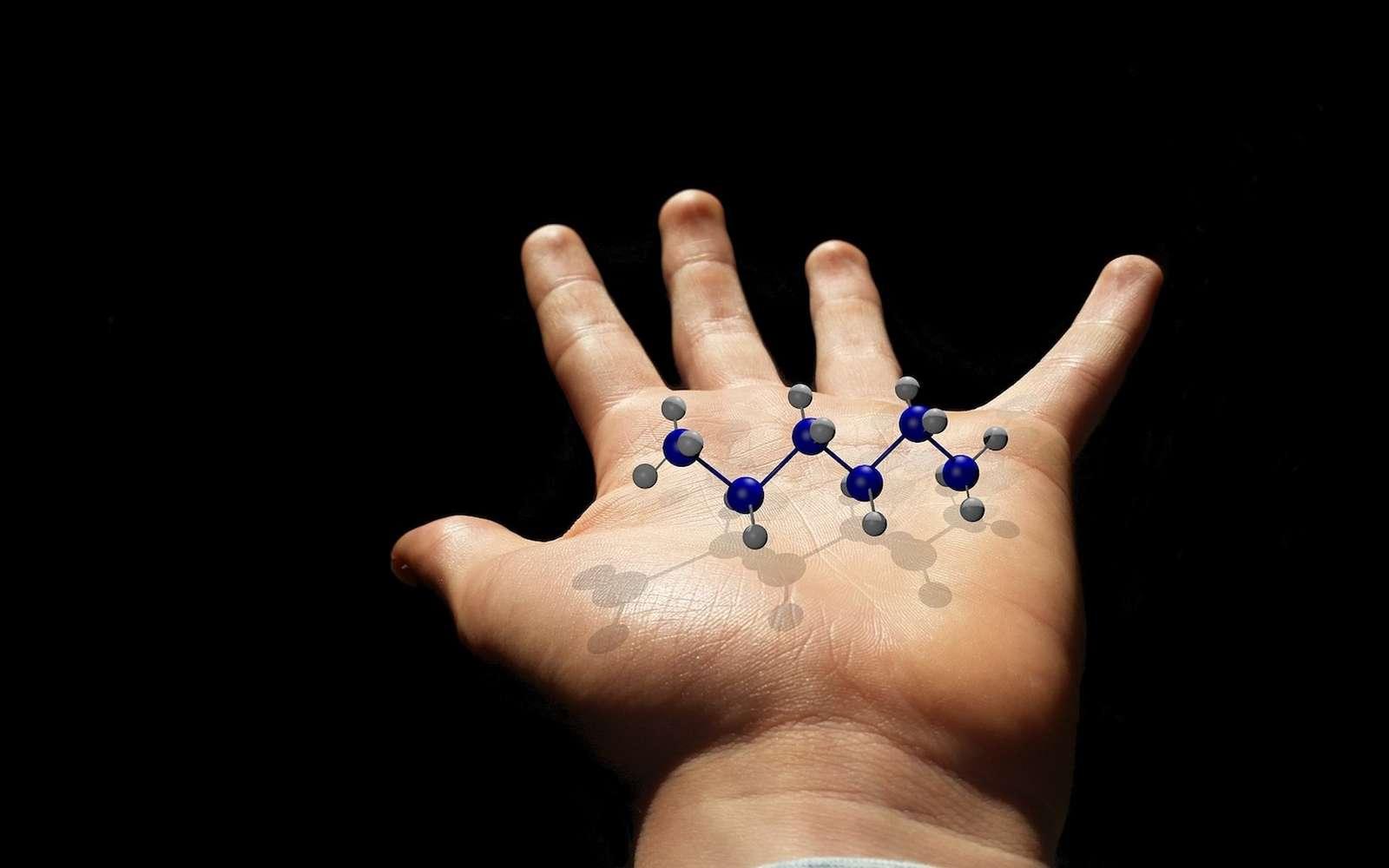 Peut-on enregistrer des données numériques sur des molécules du corps humain ? La réponse est oui. © ColiN00B, Pixabay
