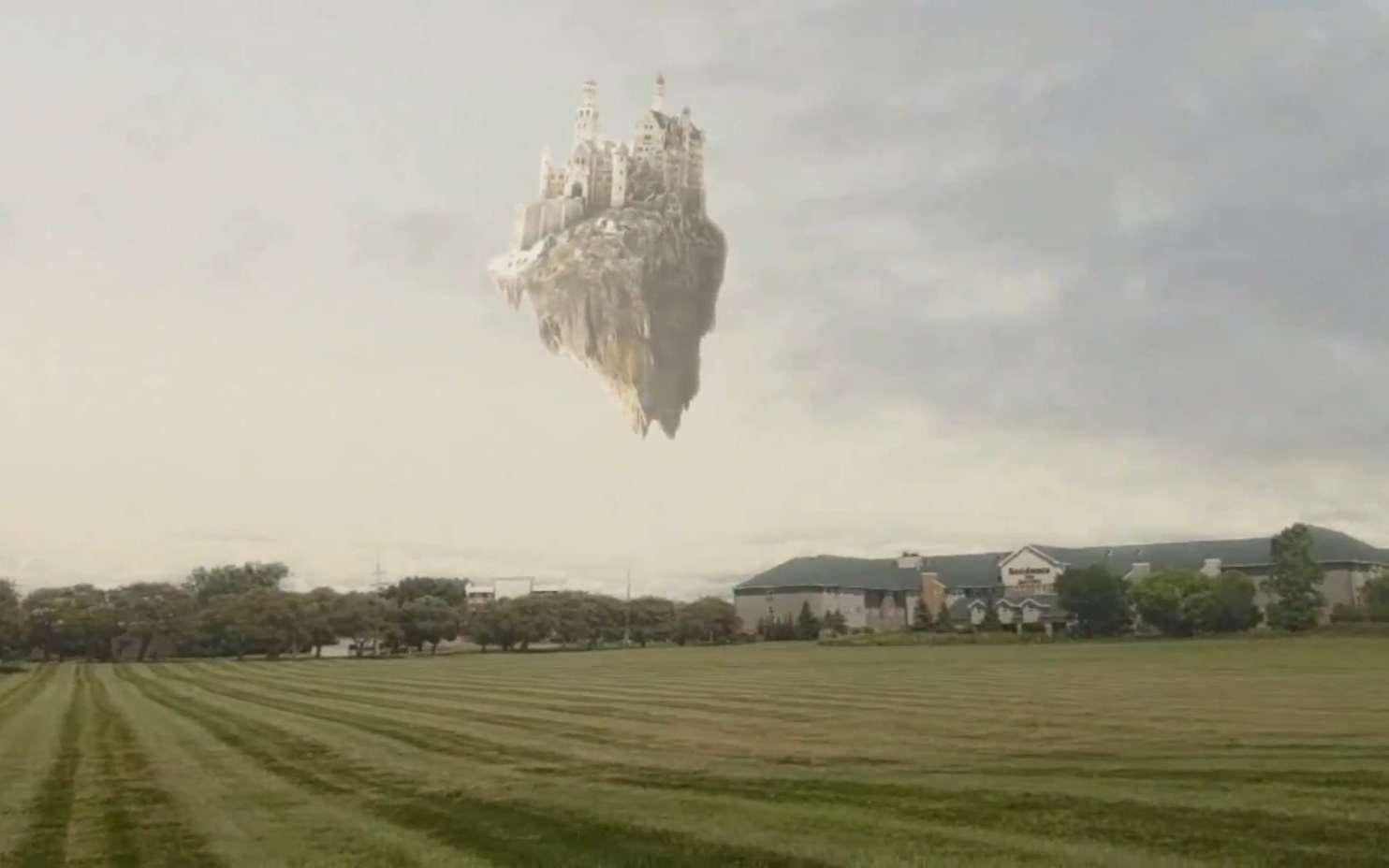 Castle in the Sky est une IA qui remplace automatiquement le ciel dans les vidéos pour ajouter un château volant ou un vaisseau spatial, ou changer la météo. © Zhengxia Zou