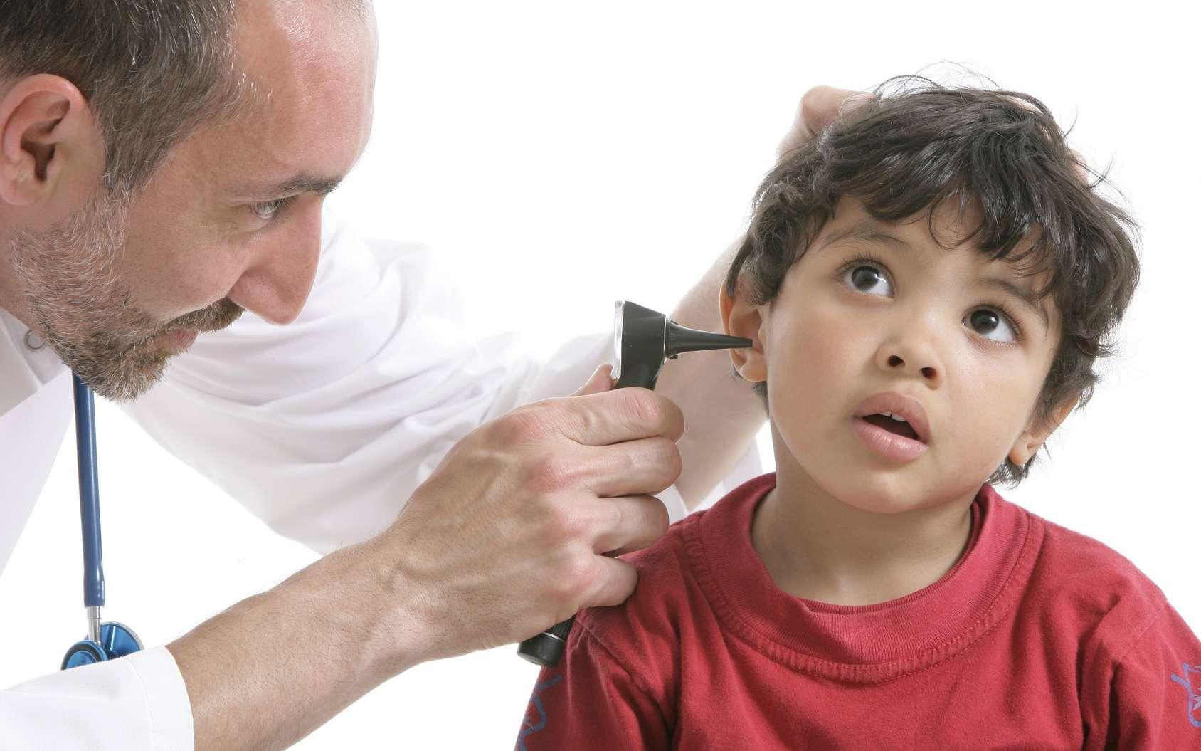 L'otite est fréquente chez les enfants. © JPC-PROD, Fotolia